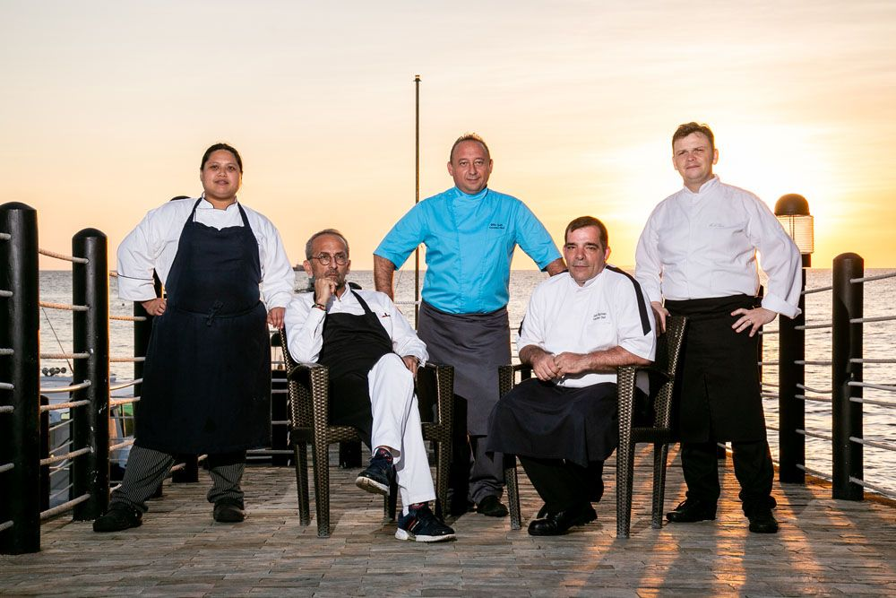 The culinary titans part of the 3-day Reservations in Paradise event (Photo Courtesy of Shangri-La)
