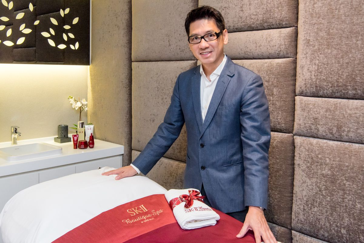 Beauty Talk: Calvin Ng, Founder Of SK-II Boutique Spa