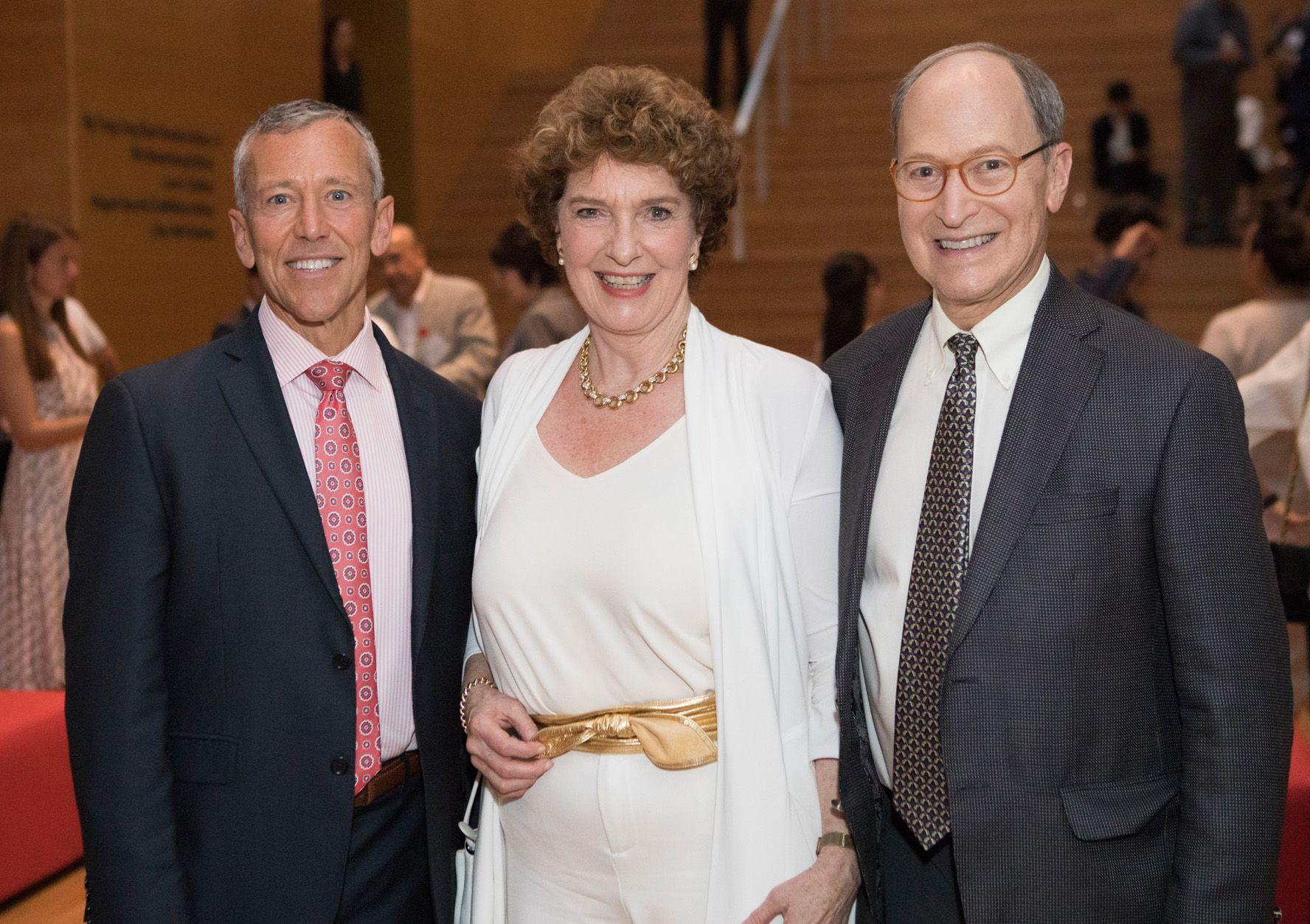 Richard Ditizio, Eileen Rockefeller Growald, Paul Growald