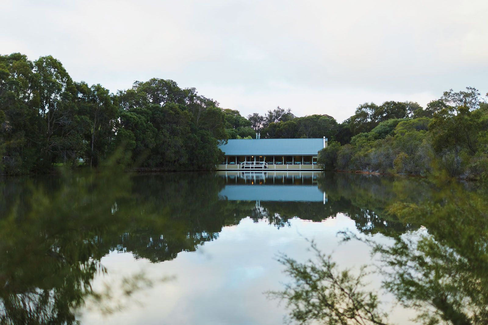 Spend a couple of nights at Cape Lodge to experience the natural charm of the Margaret River region