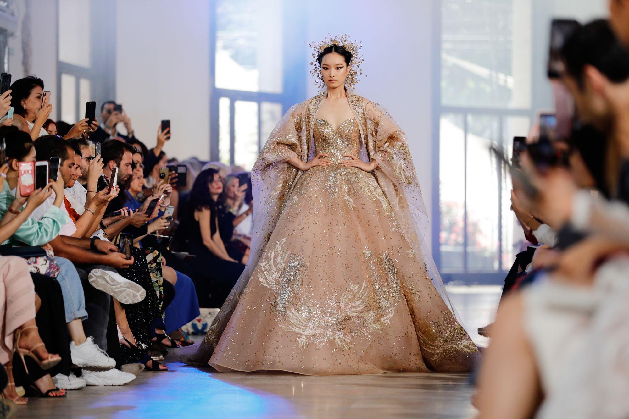 Elie Saab Haute Couture Fall/Winter 2019 (Image: Thomas Samson/AFP)