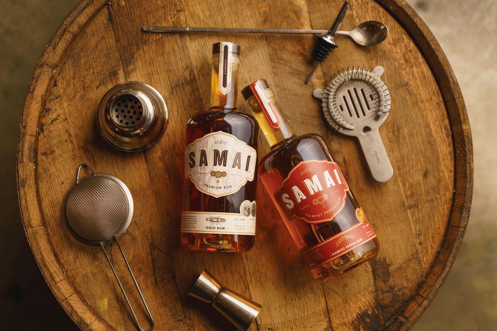 Samai Gold and Kampot Pepper Rum