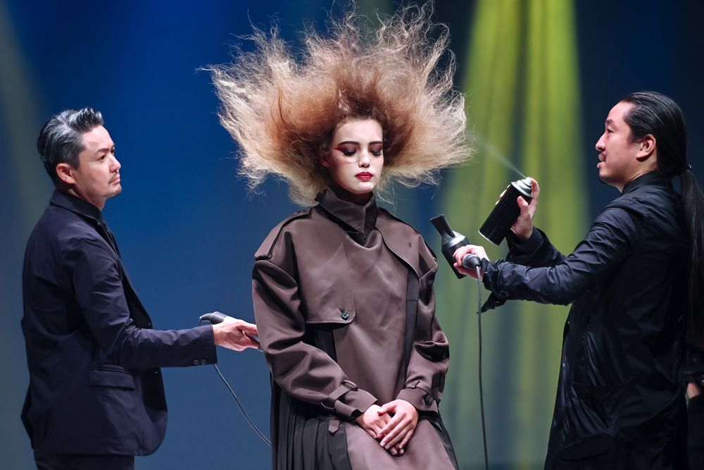 Dyson's First Hair Show In Singapore