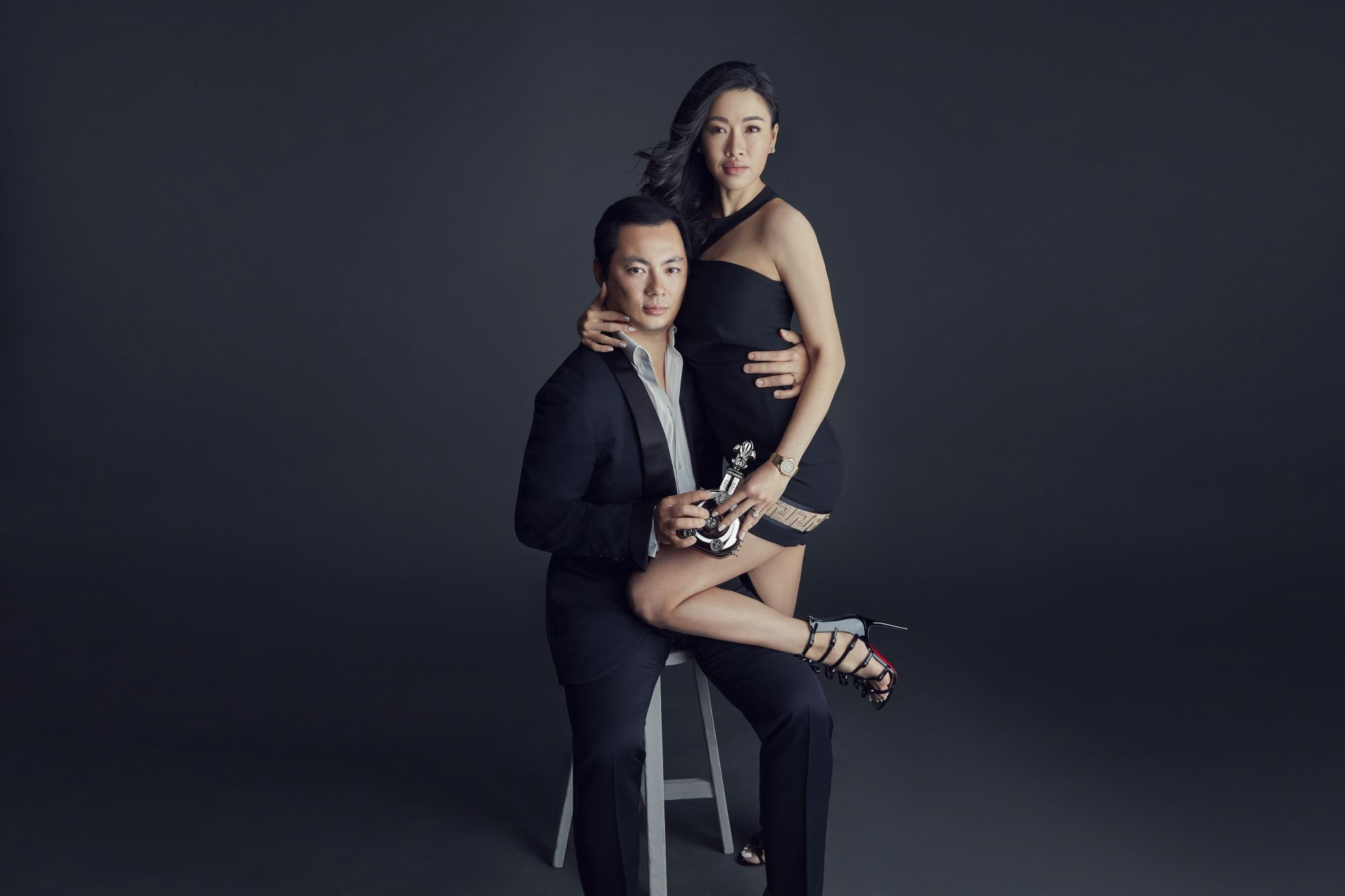 Thinking A Century Ahead With Louis XIII Black Pearl AHD: Kenneth Tan And Shenise Wong