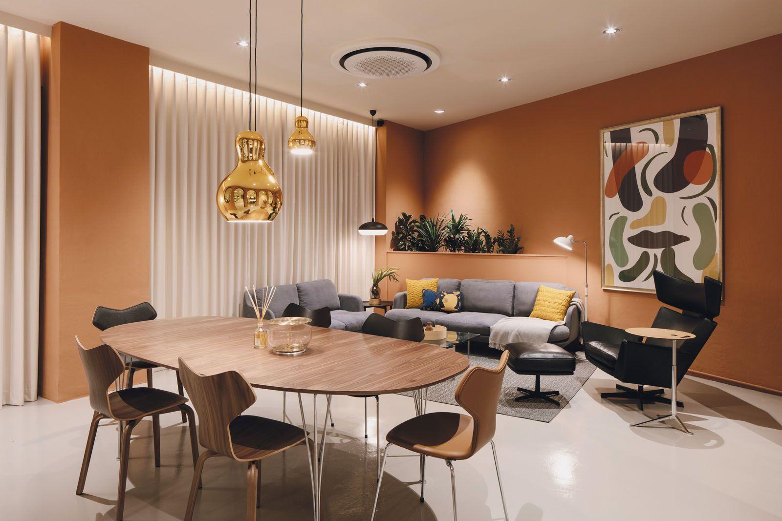 The new Fritz Hansen Lounge in Singapore designed by Spanish designer Jaime Hayón