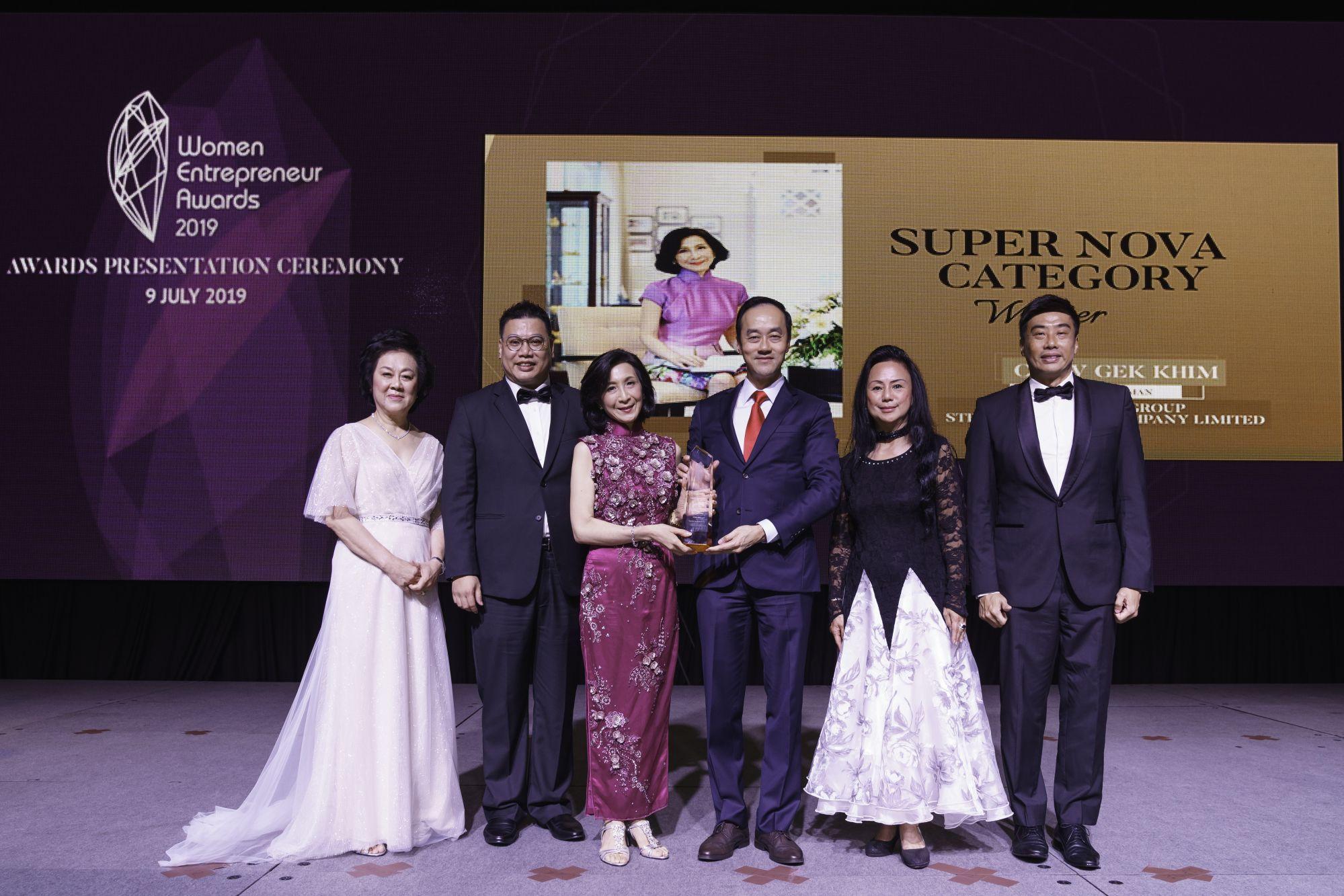Dr Gan See Khem, Francis Leong, Chew Gek Khim, Dr Koh Poh Koon, Claire Chiang, Lennon Tan