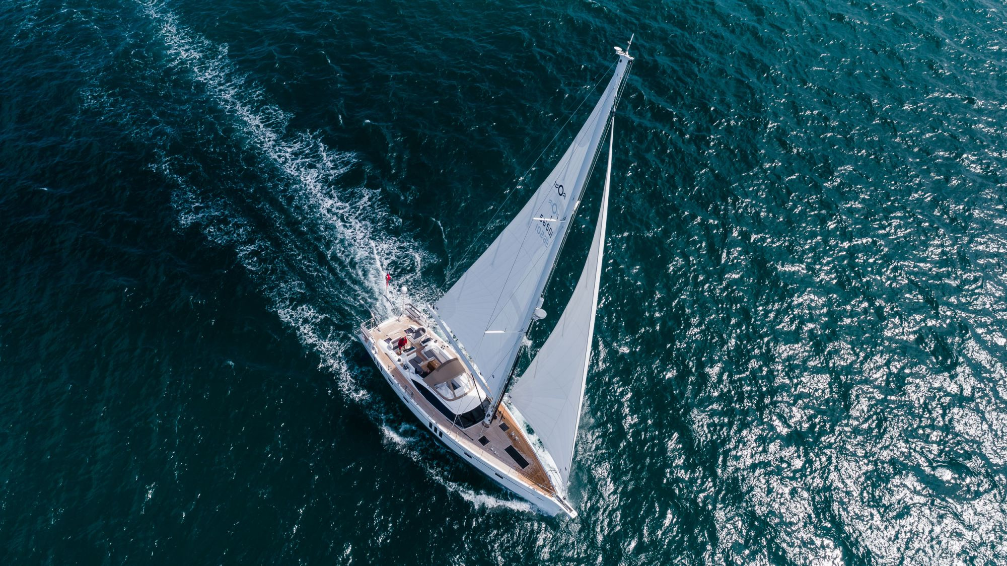 Oyster 565 - The Oyster 565 is our new, award-winning blue water sailing yacht, part of our sixth Generation (G6) fleet of Oyster sailing yachts. Photo: Brian Carlin ©