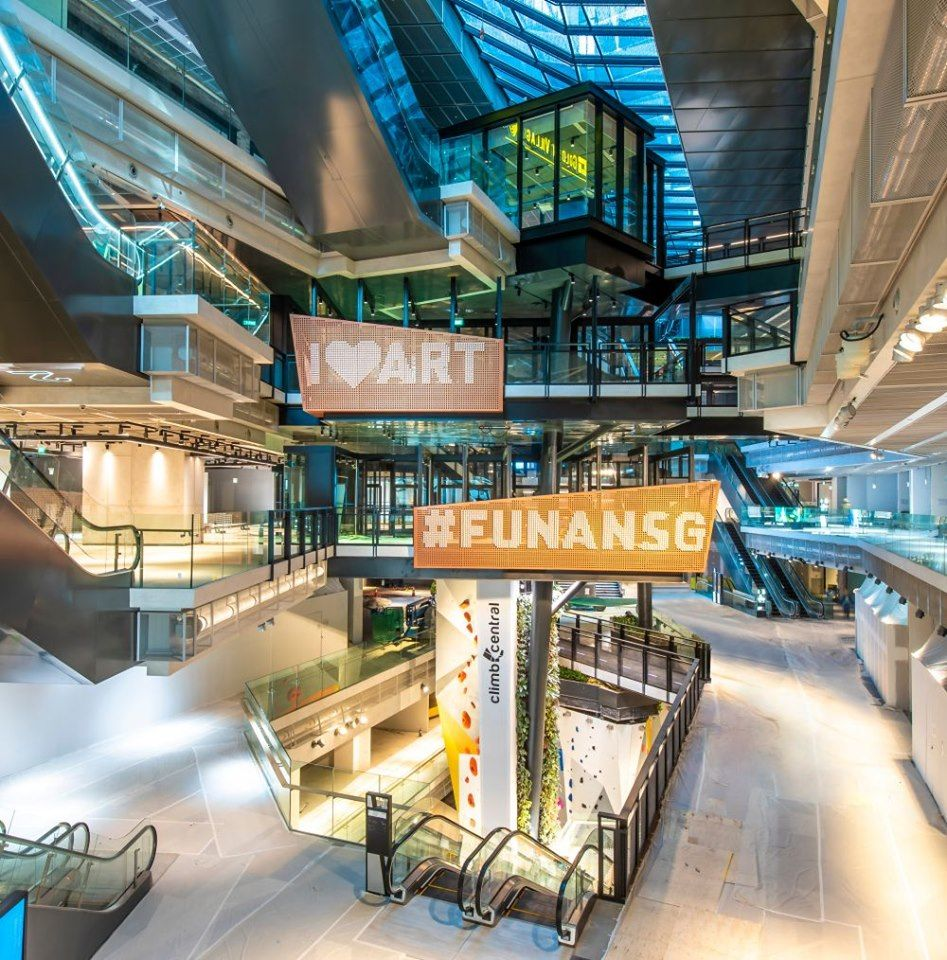 Fashion Design Interior Design Singapore: What To Do In A Day At Funan, Singapore's Newest Tech