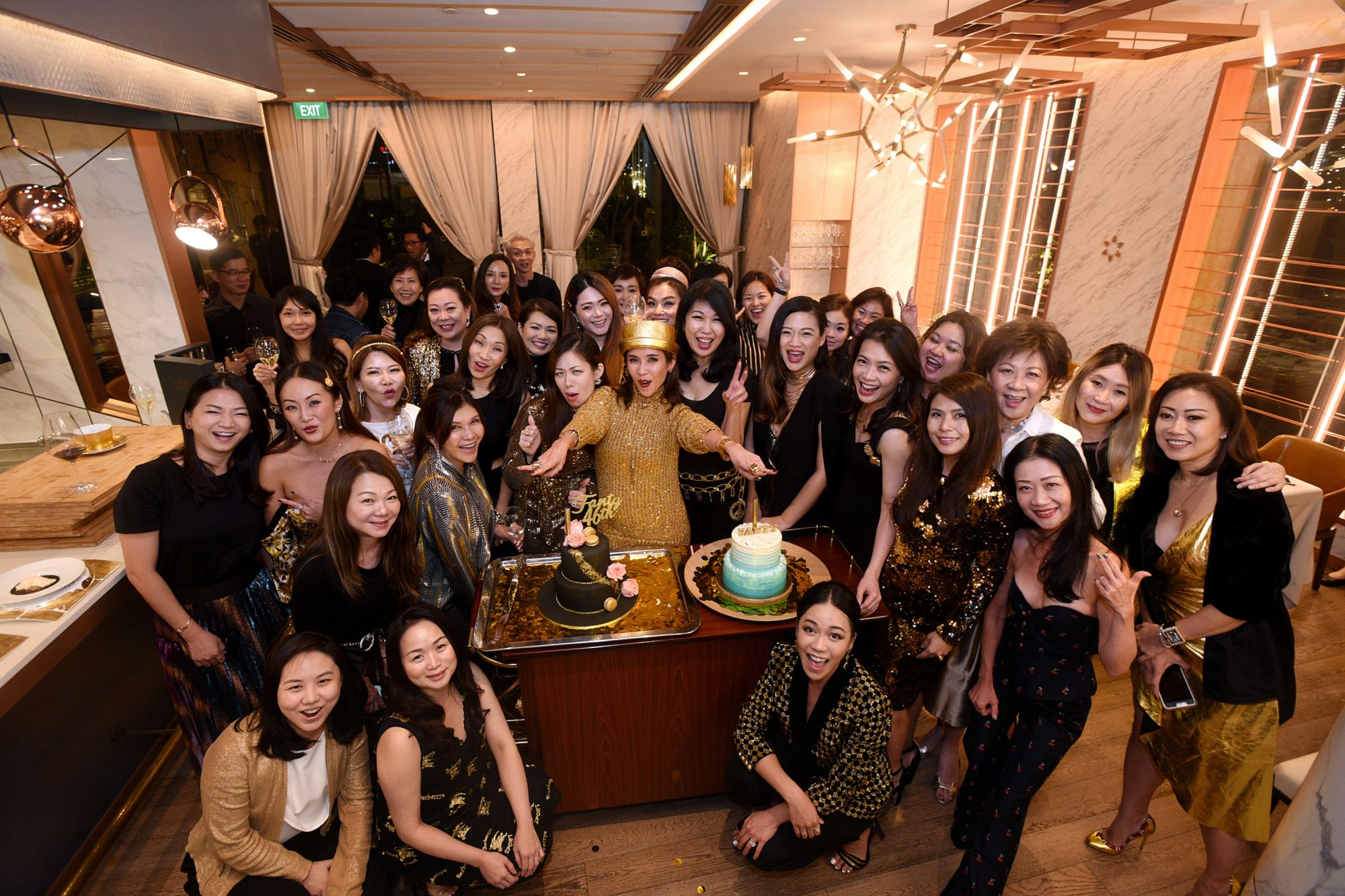 Fanty Soenardy's Gilded 46th Birthday Party