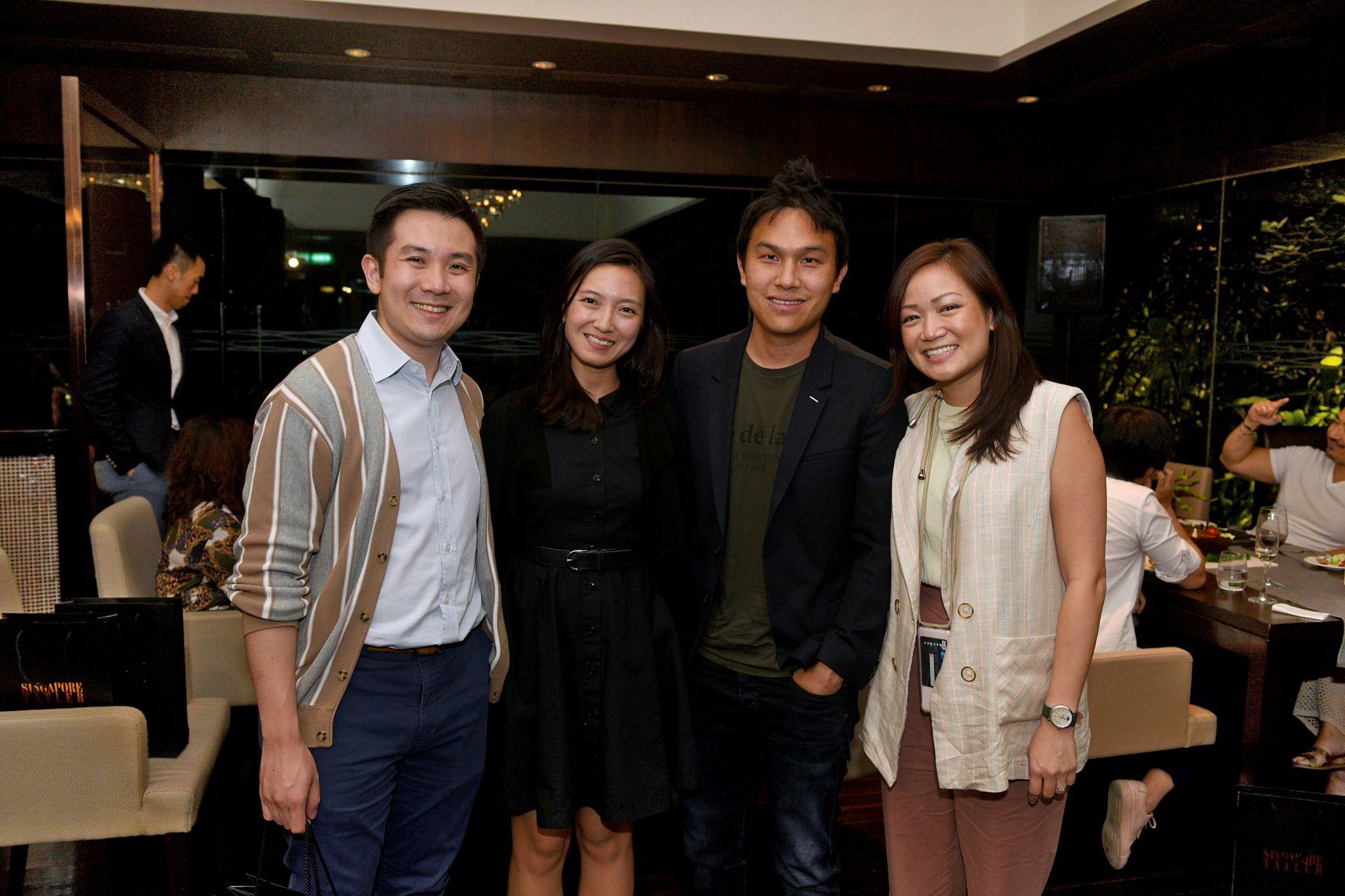 Indra Kantono, Cherie Er, Gabriel Tan, Gan Guoyi