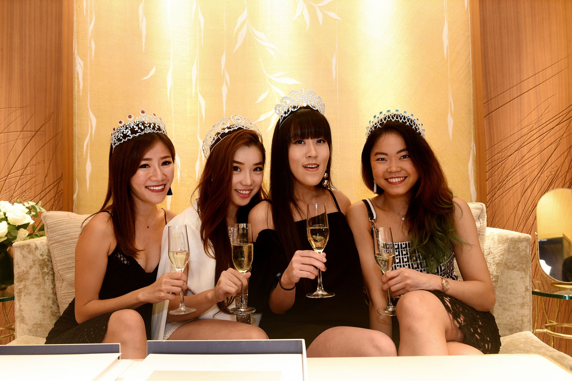 Samantha Tay, Liyann Seet, Qli Quek, Cheryl Cheong