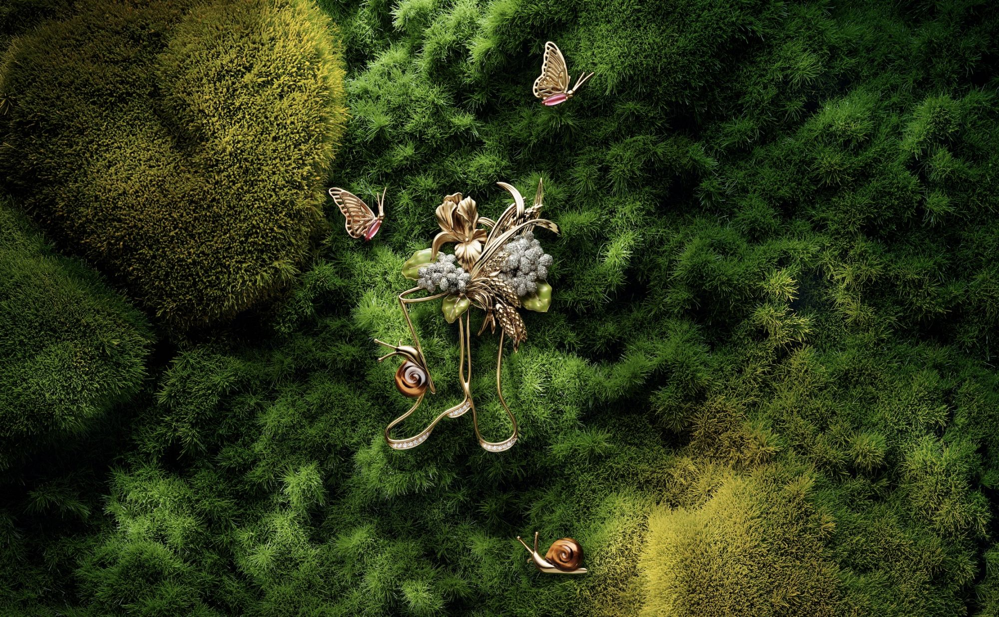Chaumet's Garden of Earthly Delights Is A Brilliant Celebration of Nature
