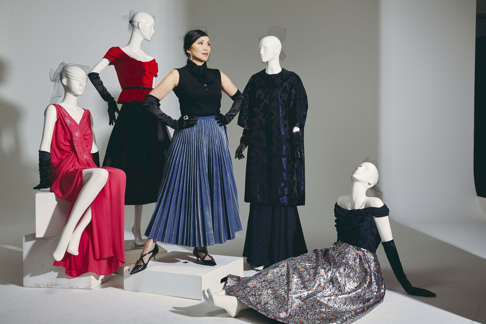 Fashion Collectors: Caroline Low-Heah's Love For Old Glamour Led Her To Discover Christian Dior