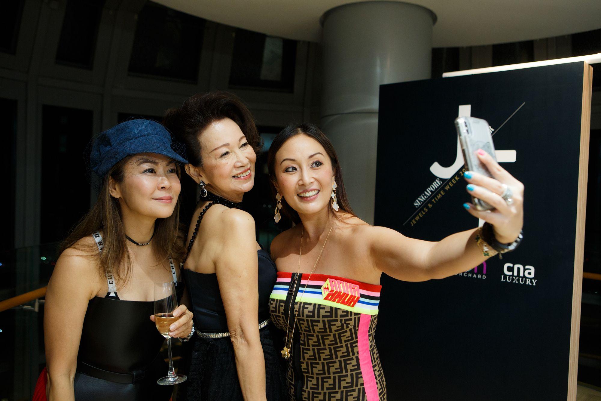 Alicia Thian, Celeste Basapa, Serene Chua
