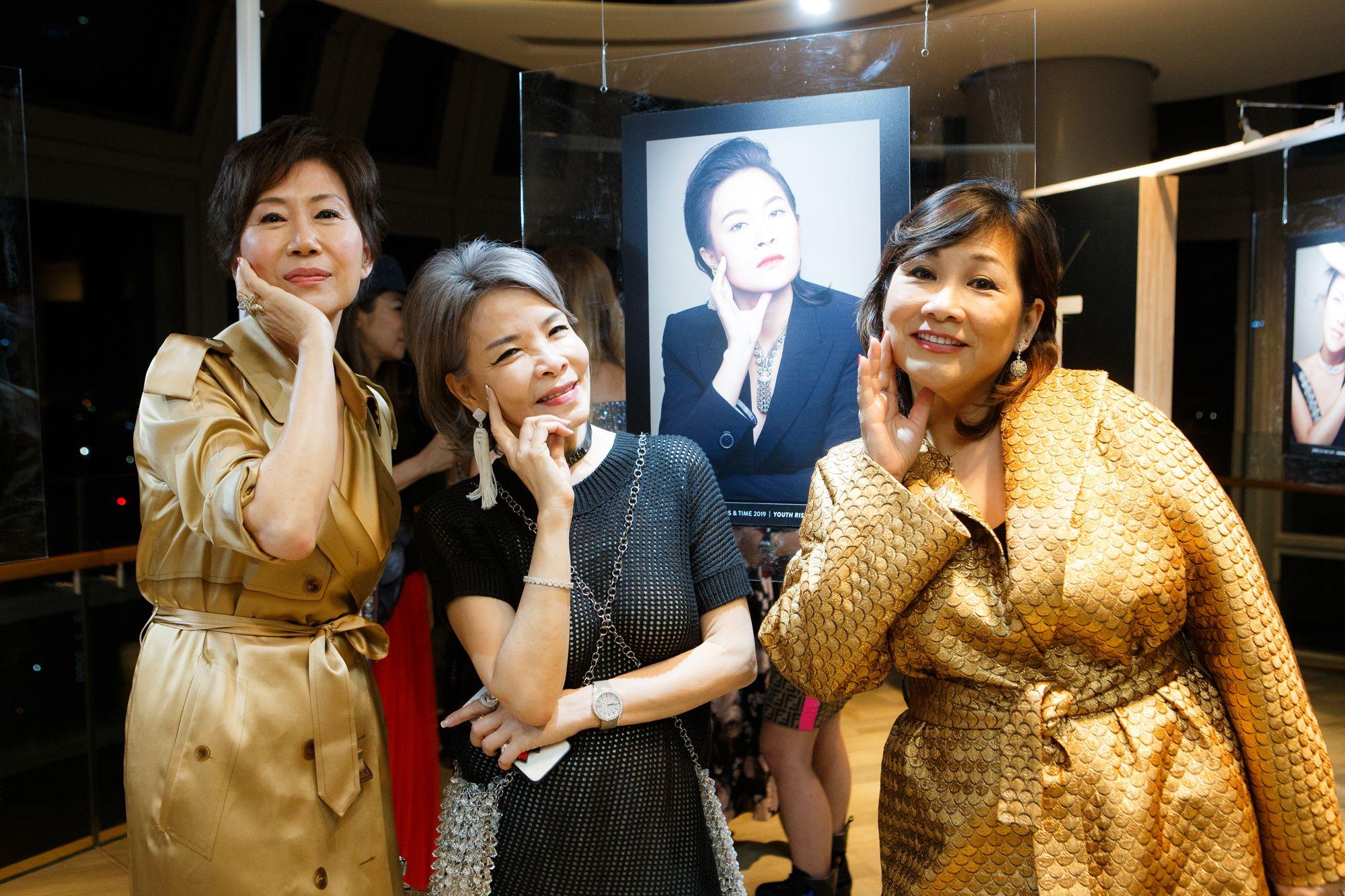Nancy Ong, Grace Wong, Pauline Chan