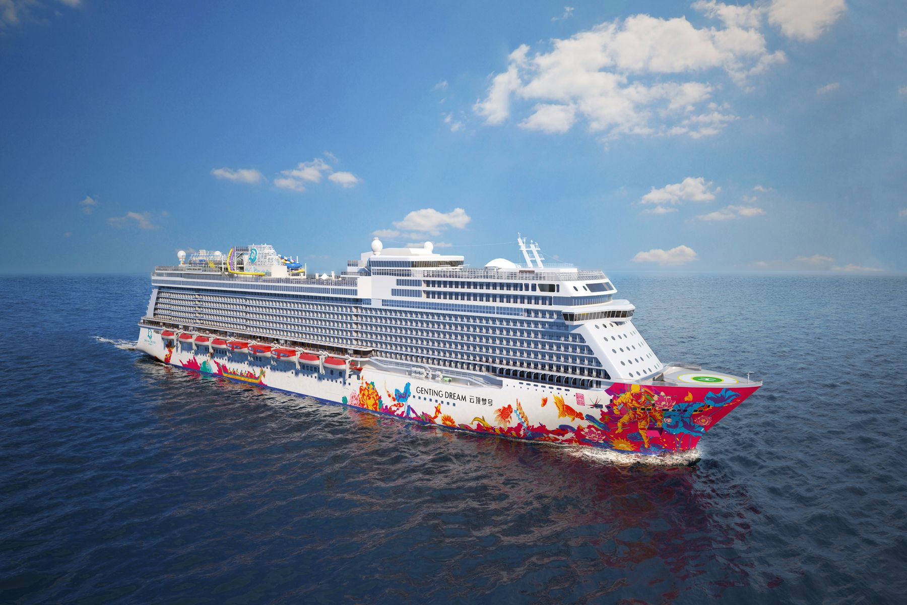 Genting Dream's Exclusive Singapore Voyage With British Royal Family Chef Darren McGrady And Imperial Cuisine Expert Chef Ivan Li