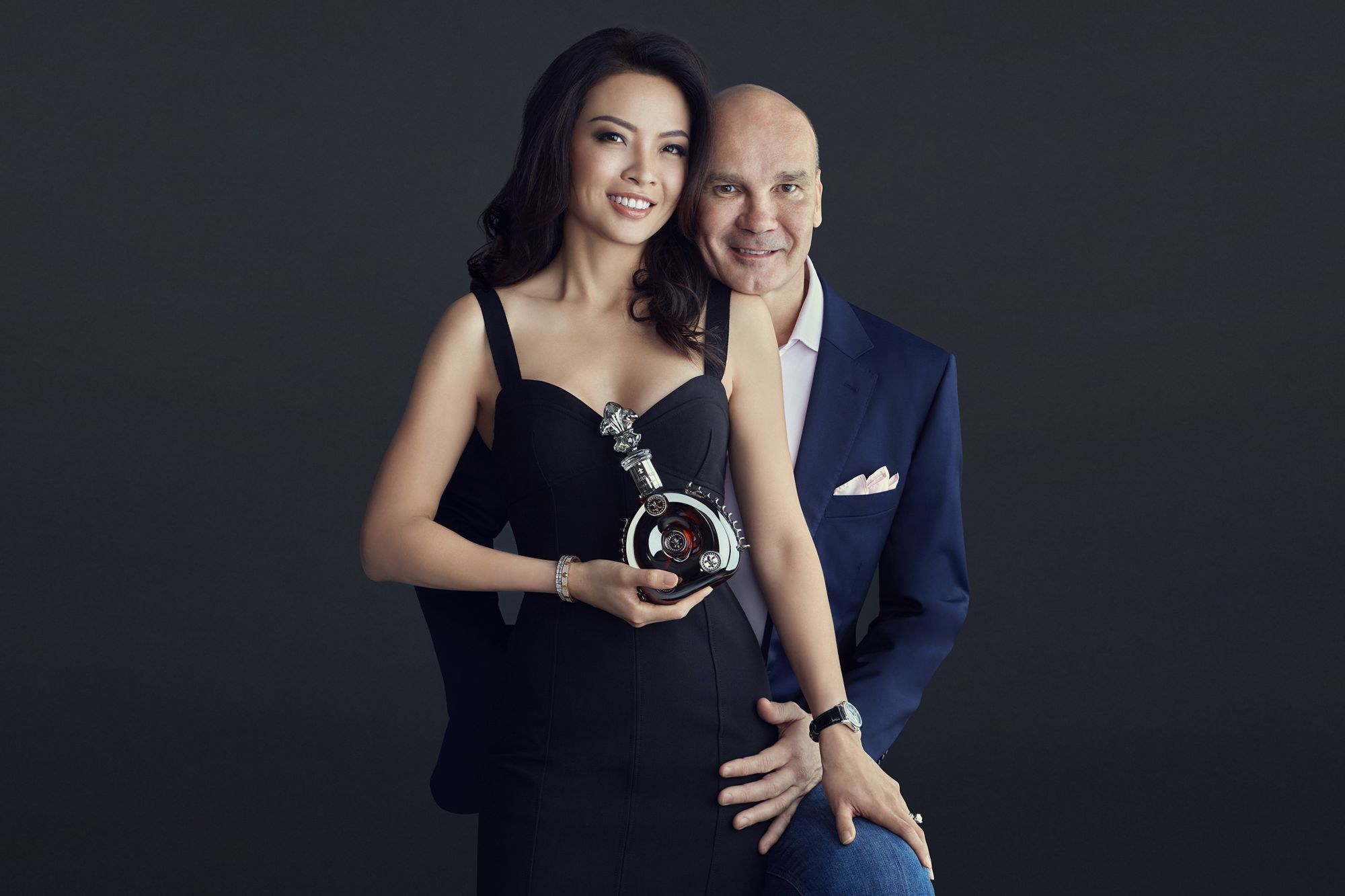 Thinking A Century Ahead With Louis XIII Black Pearl AHD: Doreen and Elbert Pattijn
