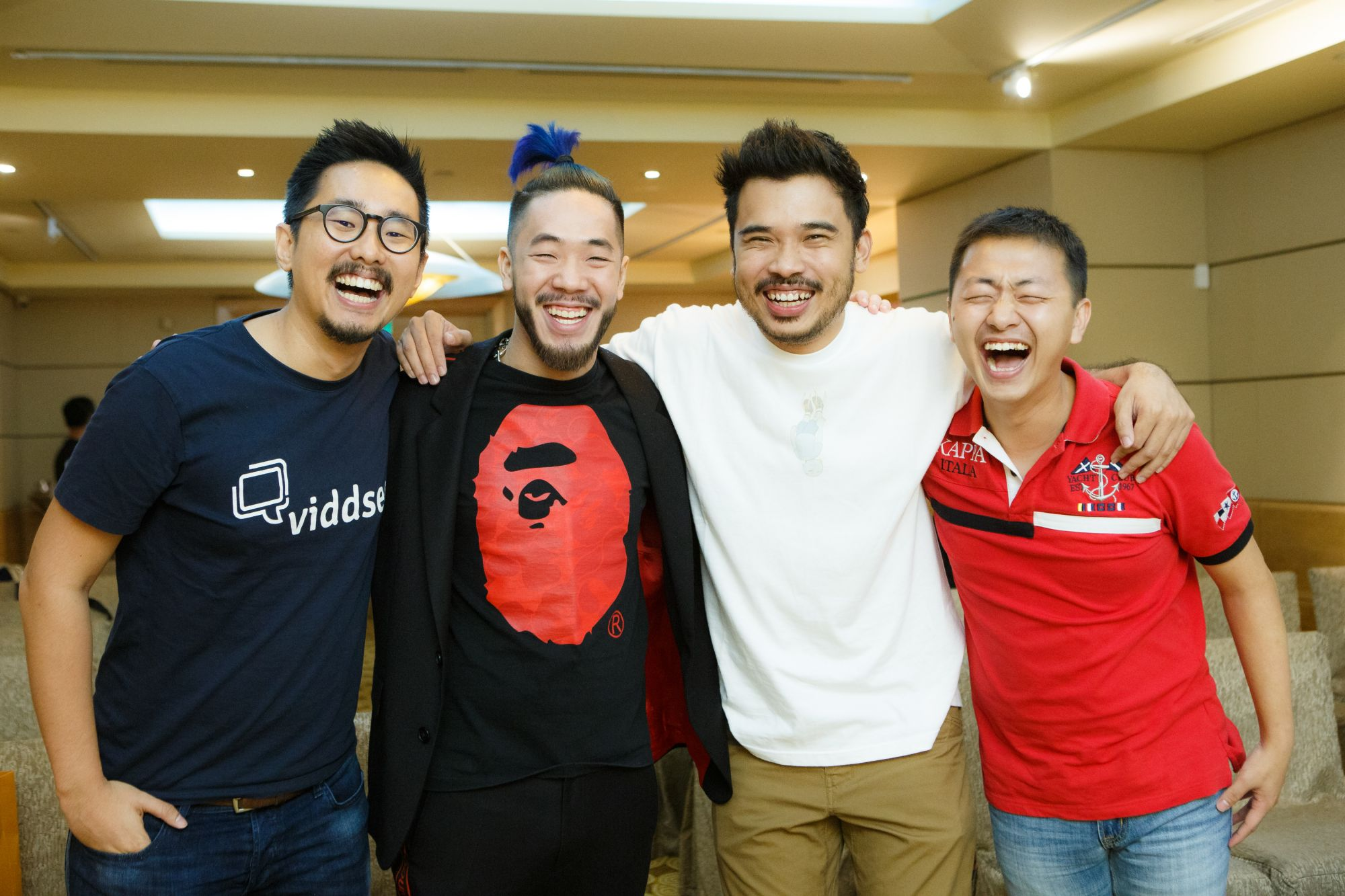 Ho Jia Jian, Shigga Shay, Jackson Aw and Oon Tian Sern