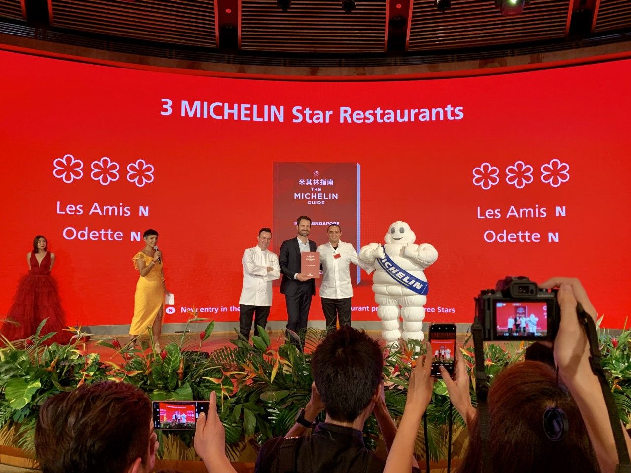 Michelin Guide Singapore 2019: The Full List Of Restaurants That Have Earned Their Stars