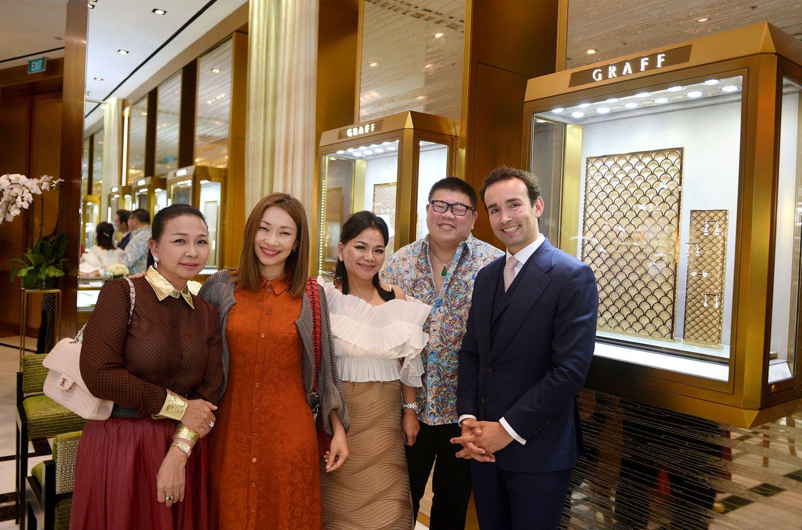 Dawn Yip, Corinne Ng, Jean Yip, Jimmy Leong, Nicolas Frechet