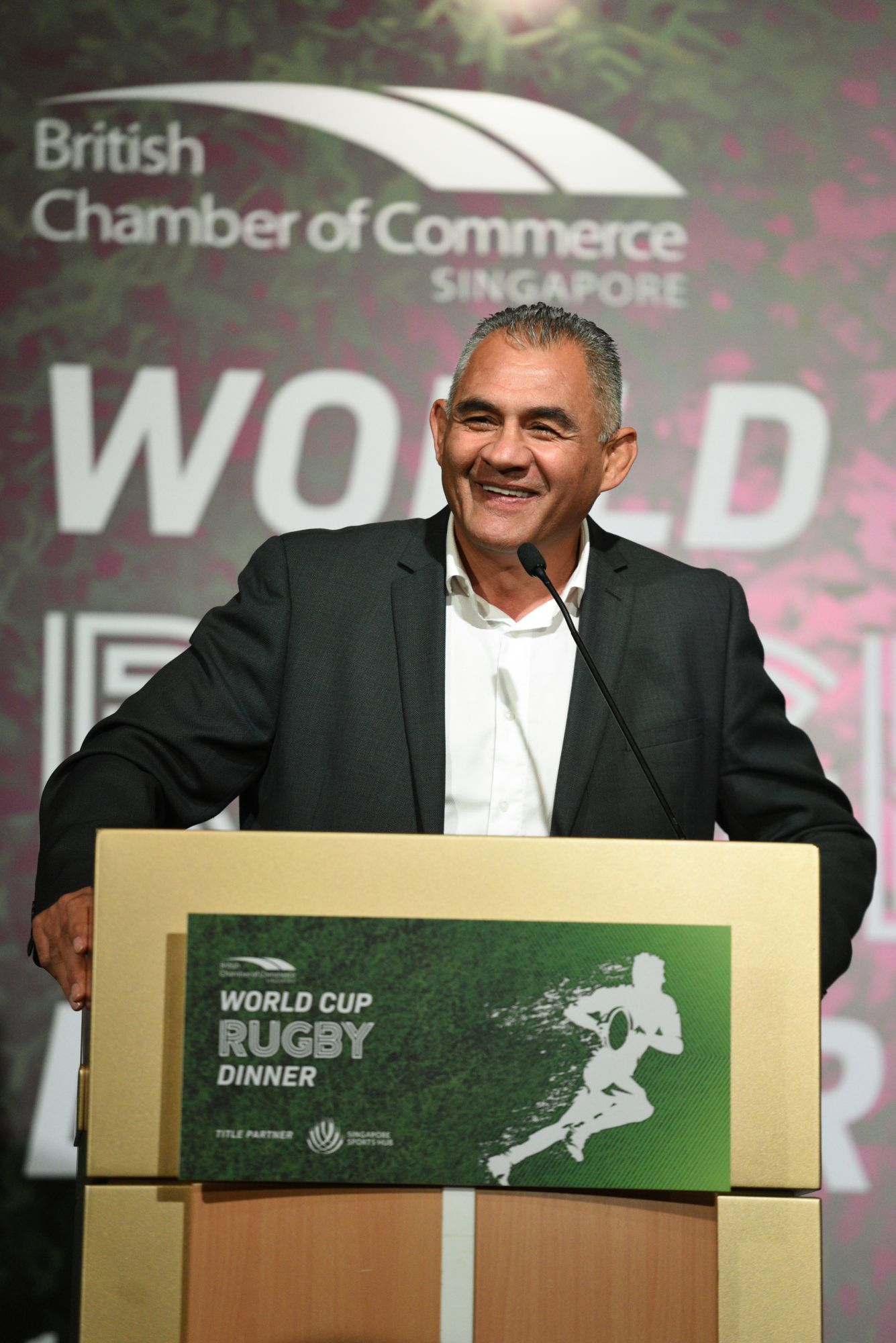 An Evening With Some Of Rugby's Biggest Names At The World Cup Rugby Gala Dinner