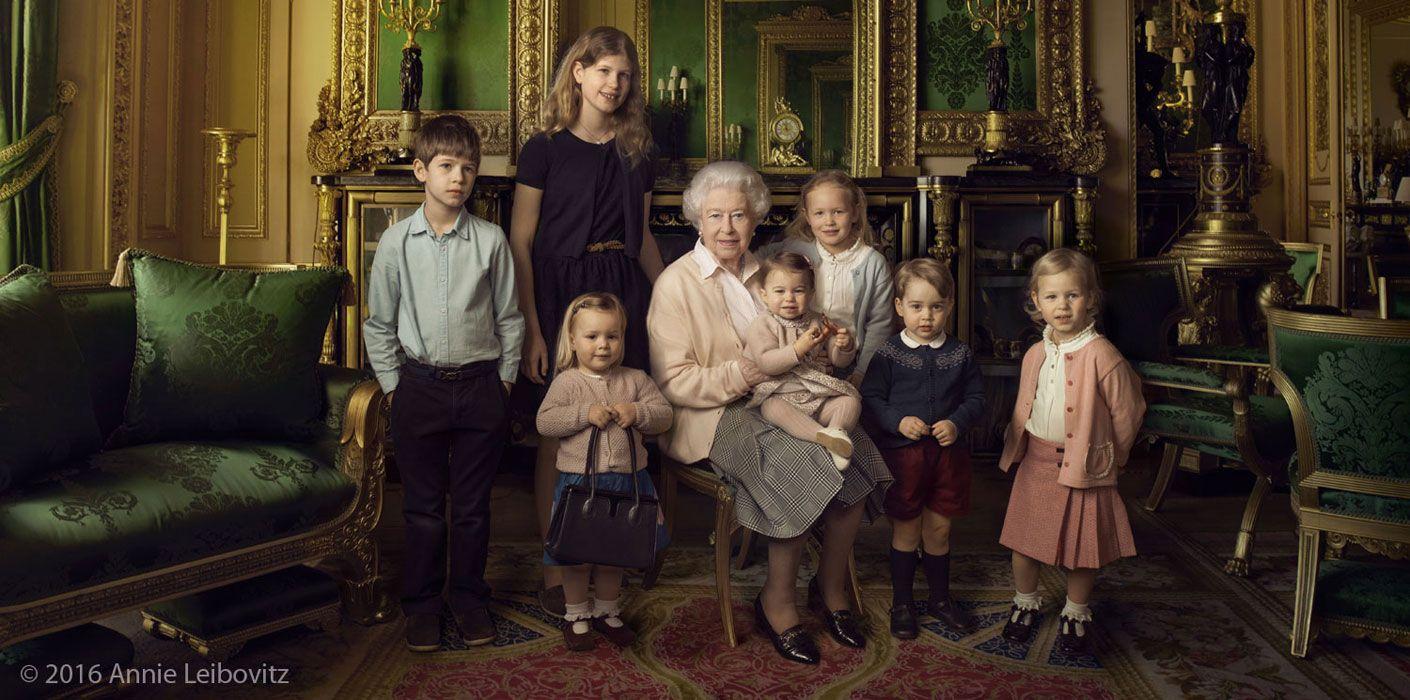 (Image: Annie Leibovitz/Royal.uk)
