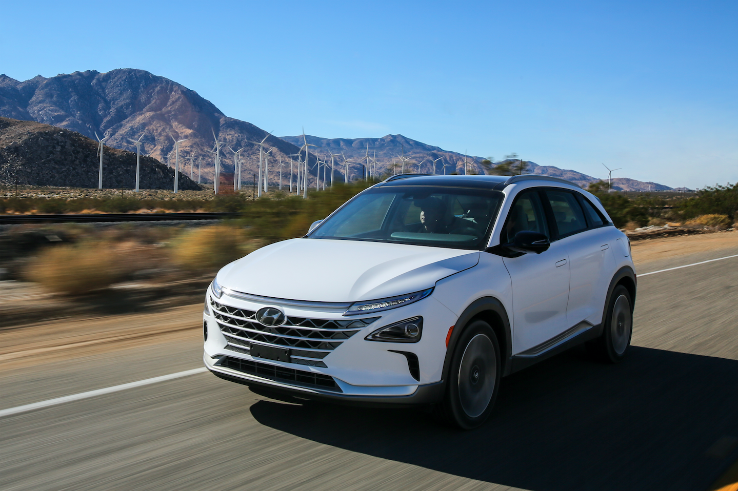 The Hyundai Nexo hydrogen fuel cell crossover SUV will be one of the first models to have a self-driving feature, thanks to the marque's partnership with Californian start-up Aurora, a leader in autonomous driving technology