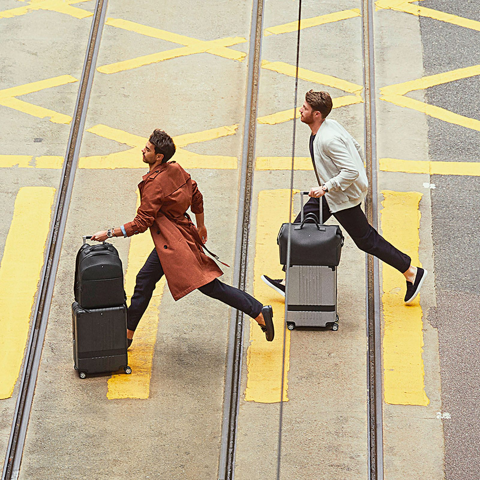 The brand's first full luggage range was launched last year