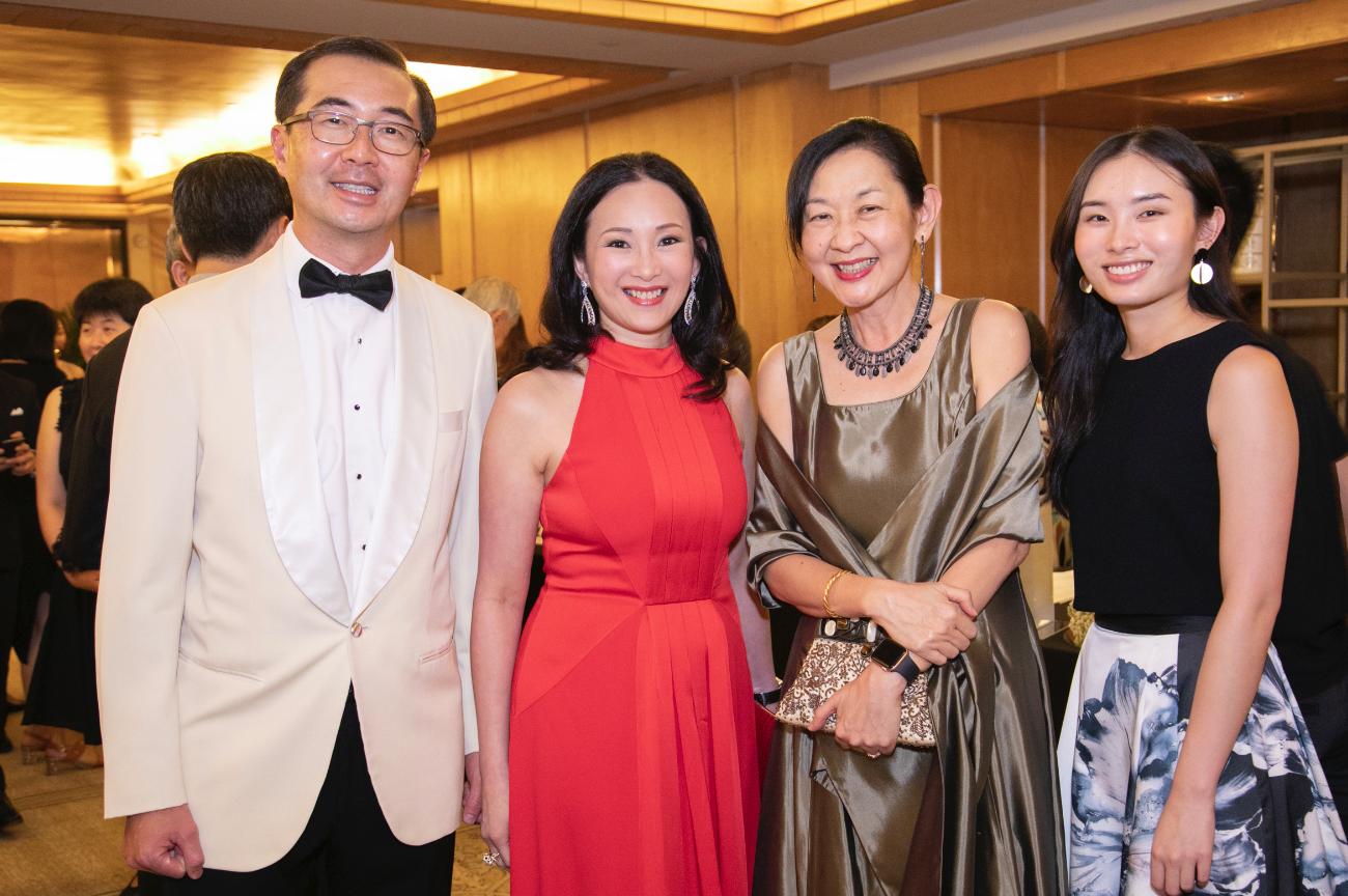 Heah Sieu Min, Caroline Low-Heah, Ivy Ng and Elizabeth Heah