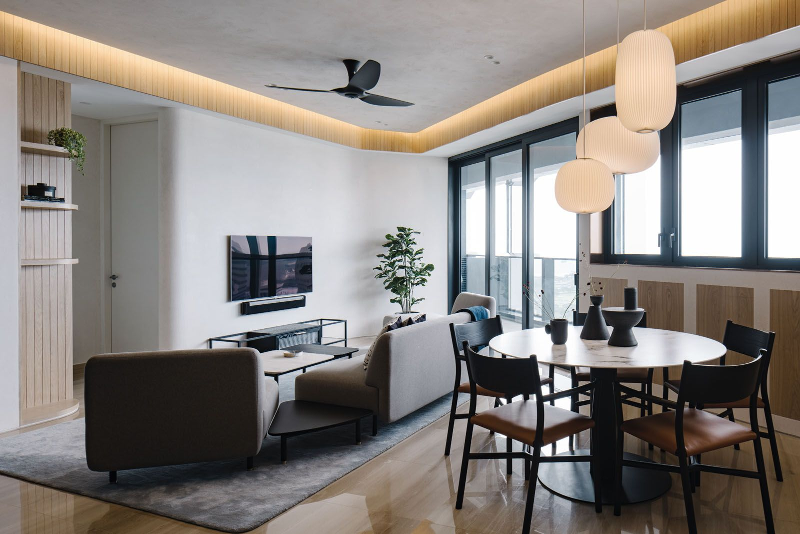 Home Tour This Minimalist Penthouse Combines Scandinavian Chic With Japanese Influences Tatler Philippines