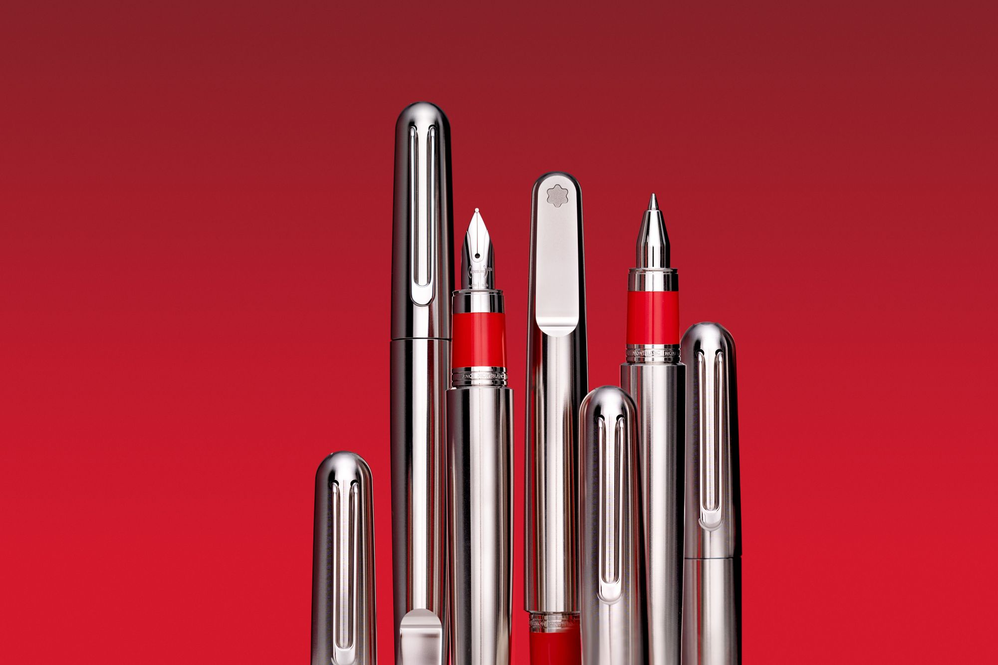 Montblanc Goes Red To Show Its Support In The Fight Against HIV/Aids