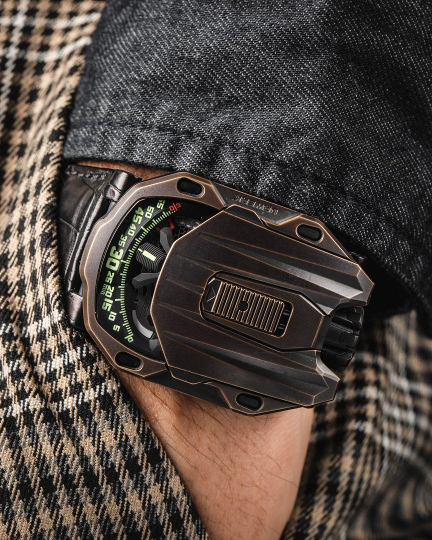 Urwerk Creates A Special UR-105 Watch To Fete The 40th Anniversary Of The Hour Glass
