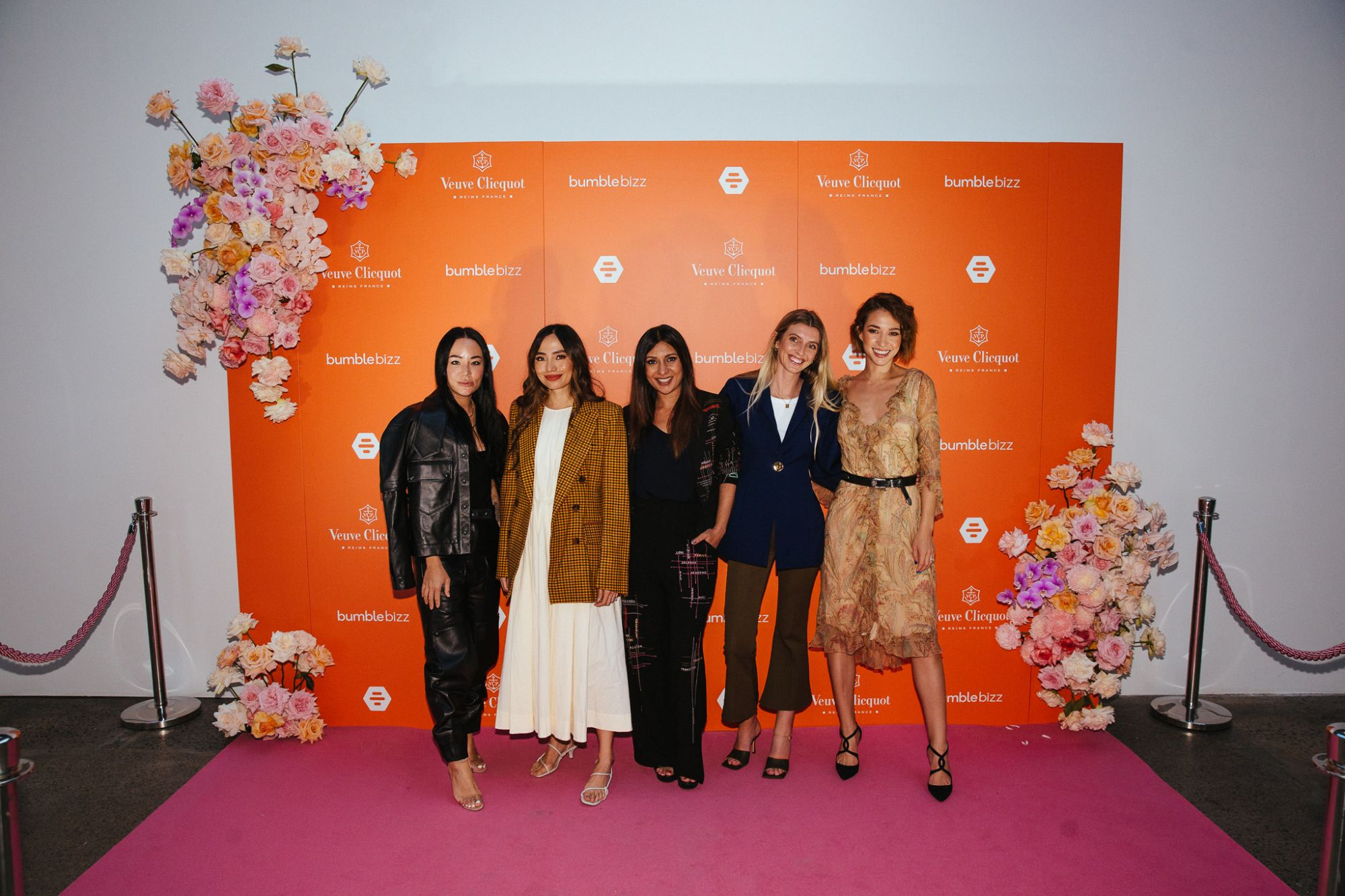 Speakers at the first Bumble Bizz Summit in Asia included Gen.T honourees Lindsay Jang and Martine Ho, entrepreneur and digital influencer Malini Agarwal, fashion designer Maggie Hewitt of Maggie Marilyn, and Liv Lo Golding of FitSphere. Image: Bumble