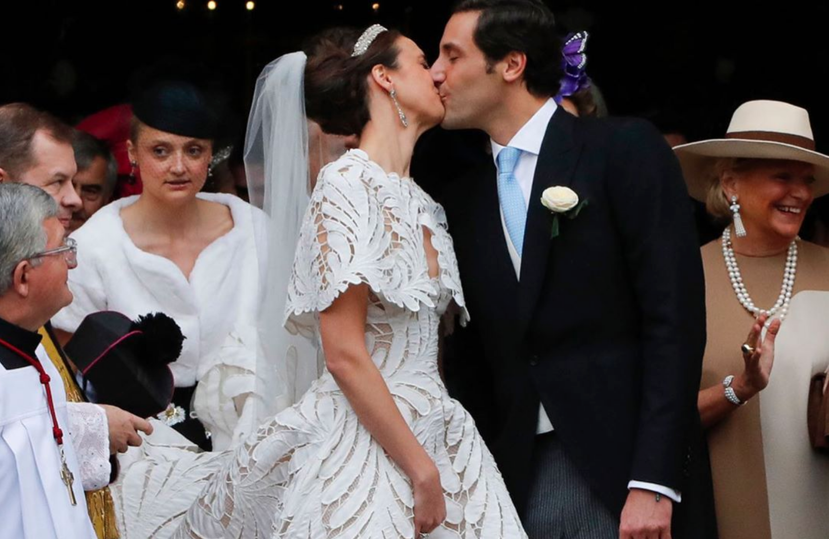 The Descendant Of Napoléon Bonaparte Held A Lavish Wedding In Paris—These Are The Royal Guests Who Attended