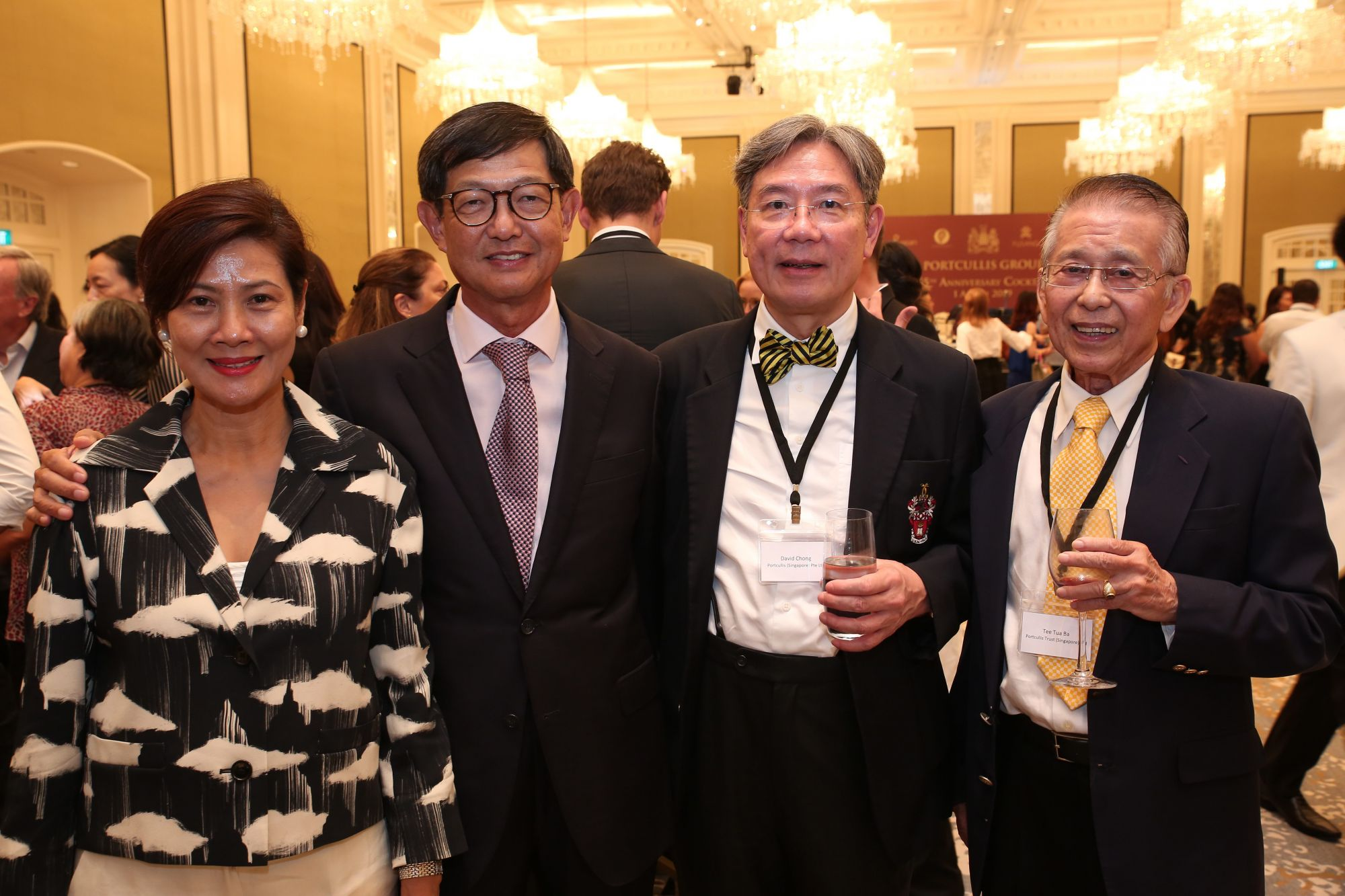 Wan Mei Kit, Tee Fong Seng, David Chong, Tan Sri Tee Tua Ba