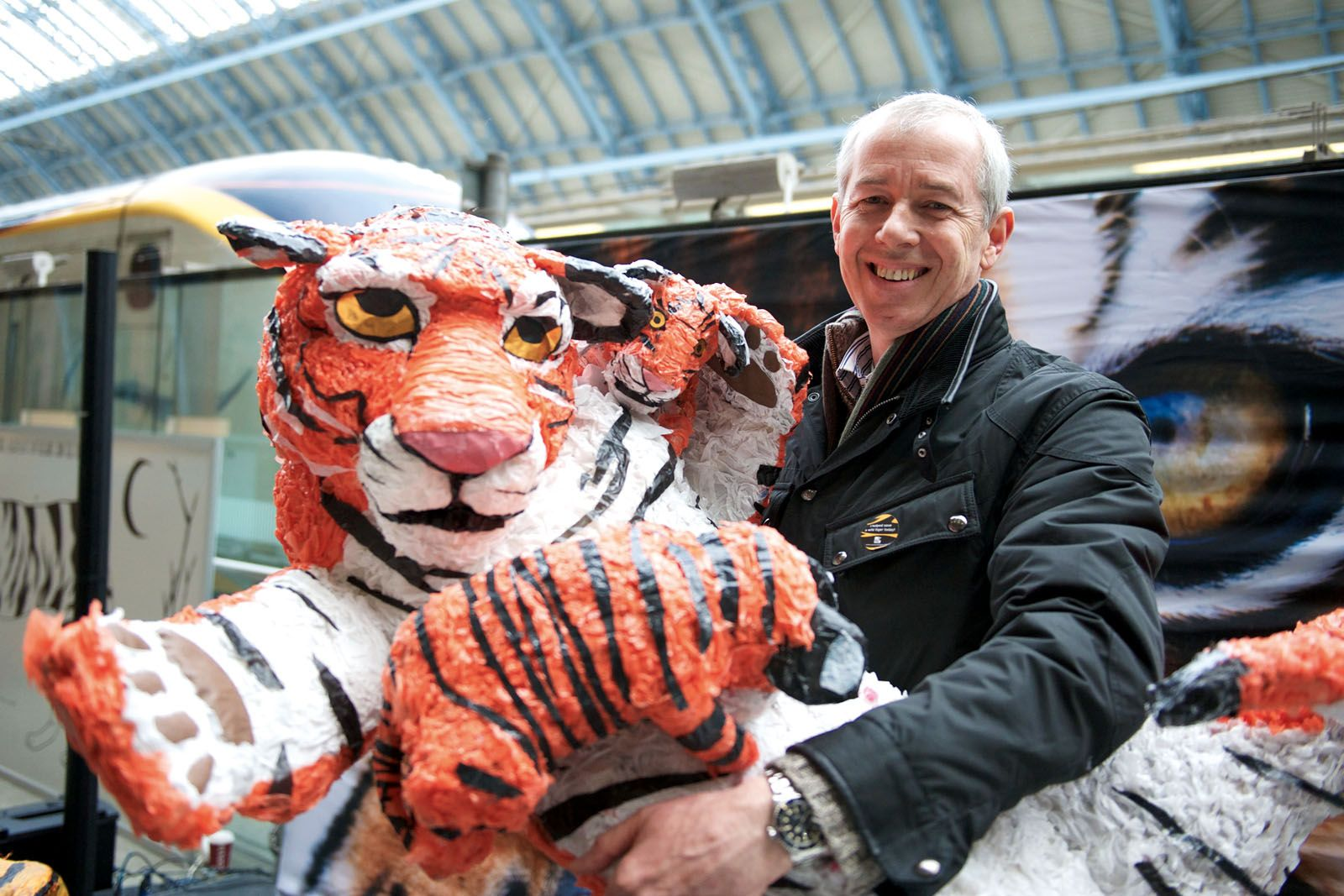 Save Wild Tigers founder Simon Clinton