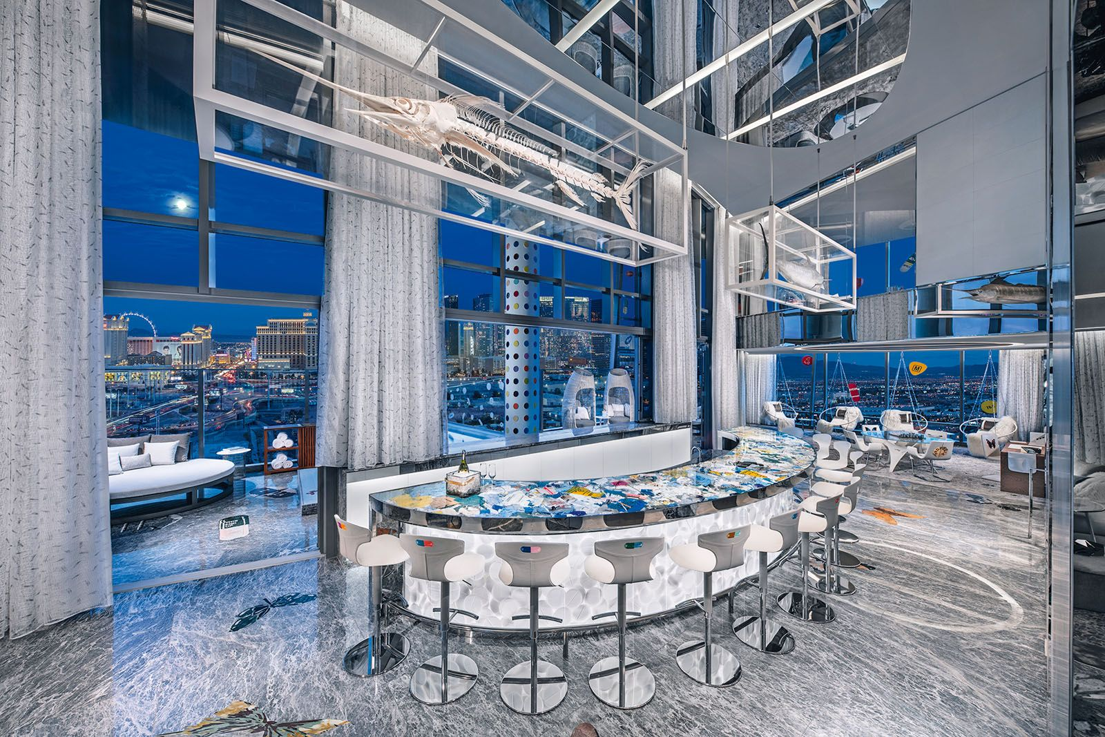 Inside The Empathy Suite—The World's Most Expensive Hotel Room At The Palms Casino Resort In Las Vegas