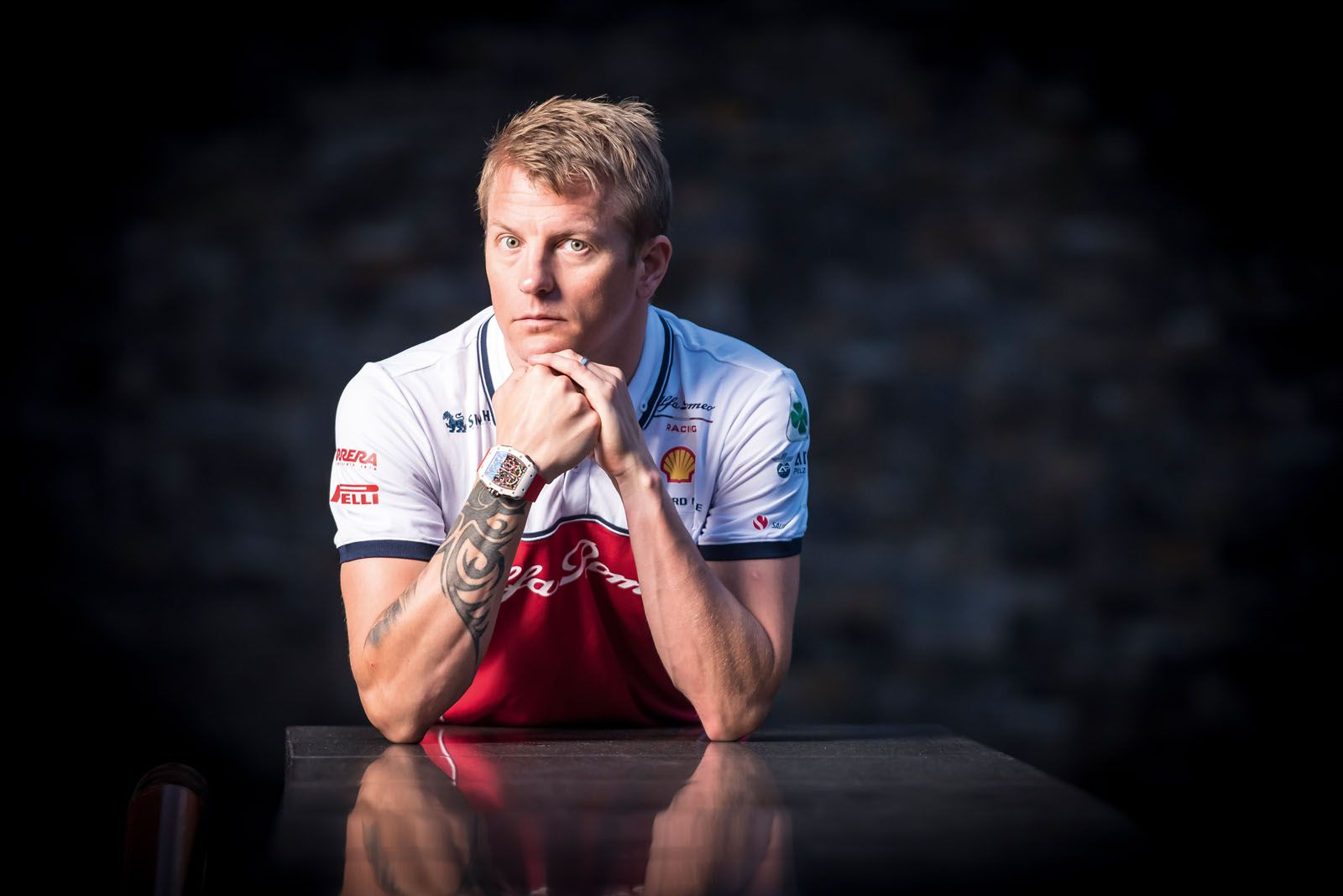 Kimi Räikkönen, the Finnish speedster, was present at the global launch of the RM 50-04 Tourbillon Split-Seconds Chronograph Kimi Räikkönen held at Capella Singapore in conjunction with the Singapore Grand Prix