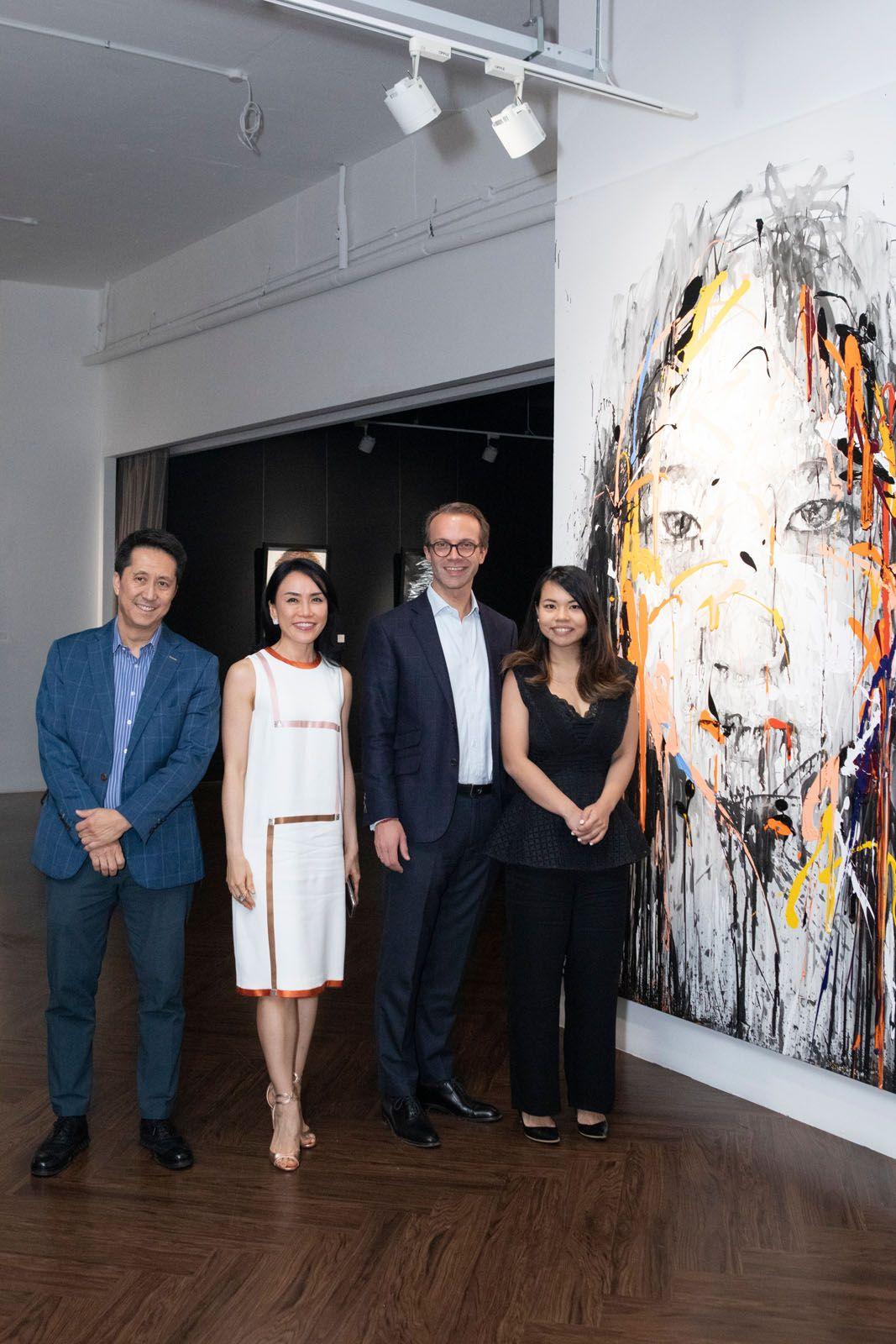 Raymond Kwee, Stephanie Gee, Jan Boes, Si Min Yuen