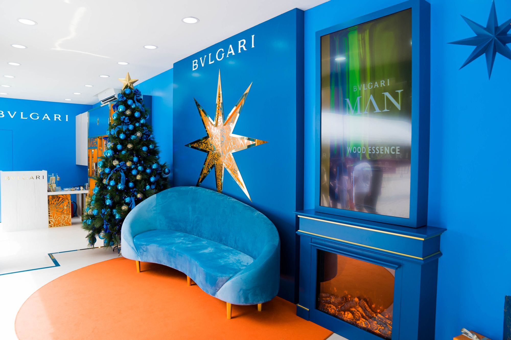 Bvlgari Parfums Celebrates The Holidays With A Special Christmas House Pop-Up In Singapore