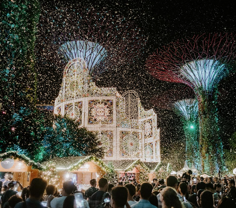 This Week, Head To Christmas Wonderland At Gardens By The Bay Or To Shangri-La To Make A Gingerbread House