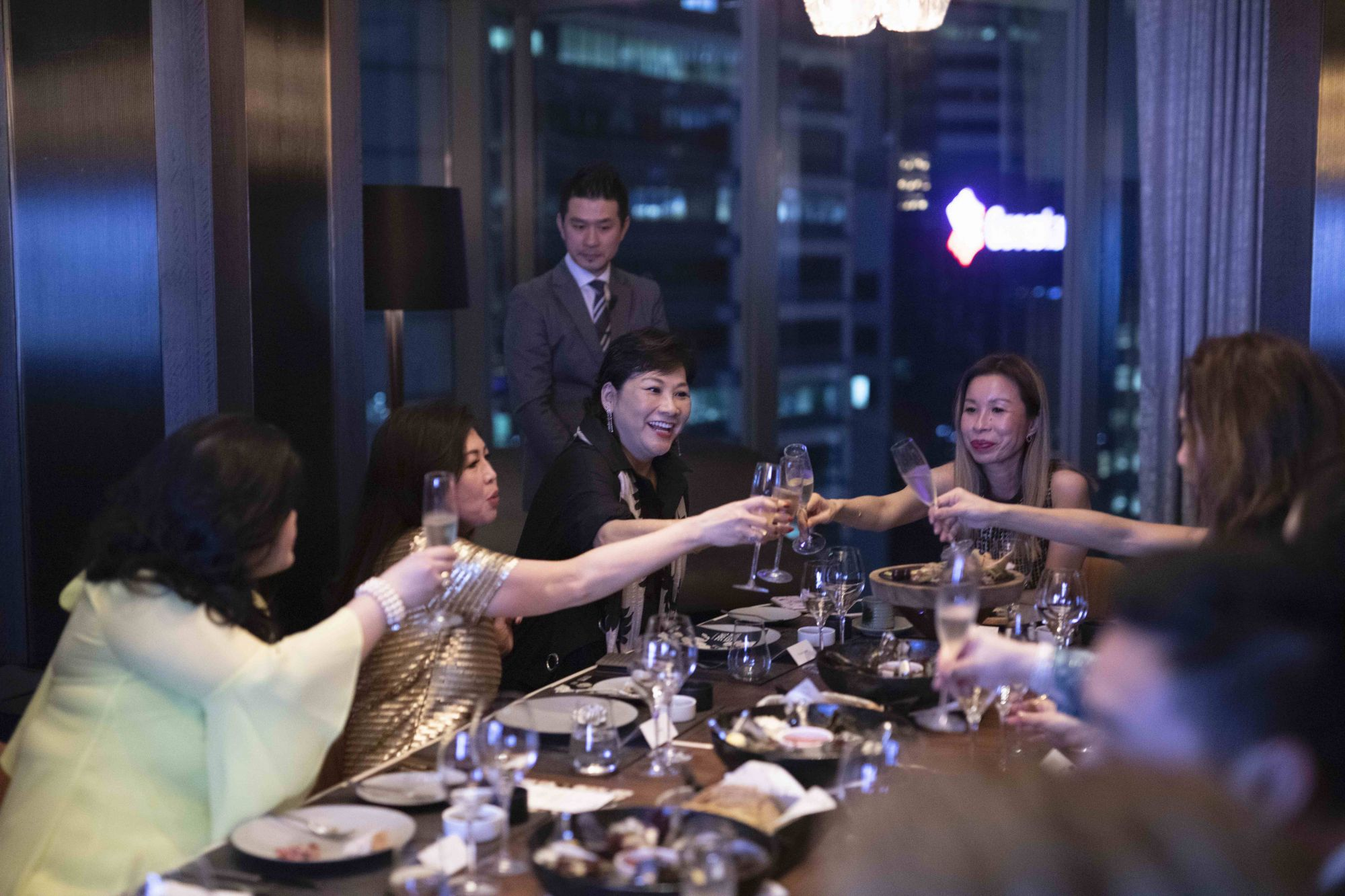 Singapore Tatler Thanks Readers Over Tatler Table At Vue With Great Food And A Spectacular View