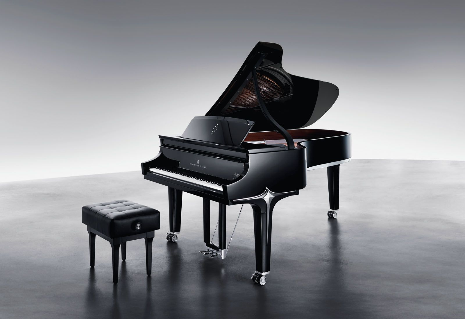 Lust List: This Steinway & Sons Limited Edition Black Diamond Collection Was Co-Designed By Lang Lang And Dakota Jackson