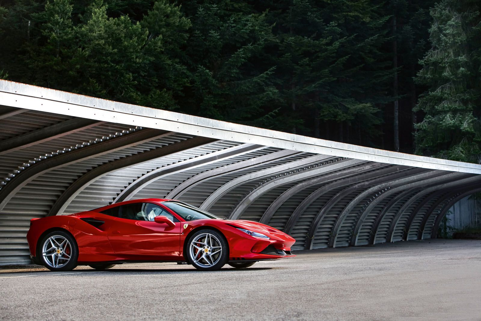 The styling of the Ferrari F8 Tributo features a degree of complexity that gives it a touch of sophistication that is missing from the current crop of supercars