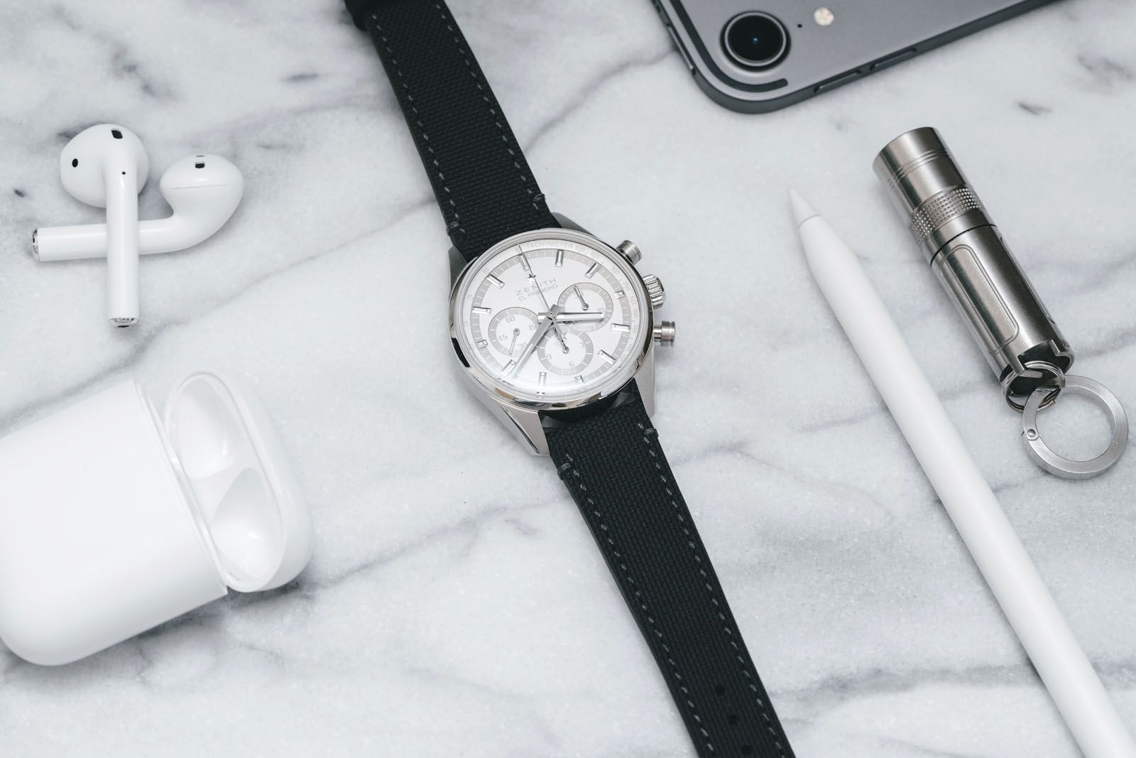 Zenith partnered Collective, a Silicon Valley-based watch club, to create a unique edition of the Chronomaster El Primero for its members