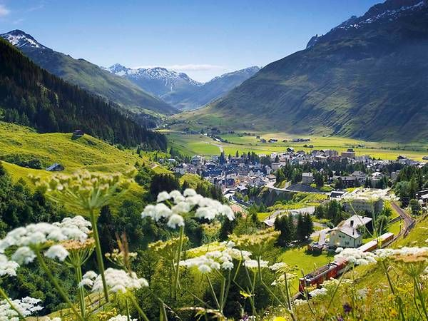 Andermatt in summer