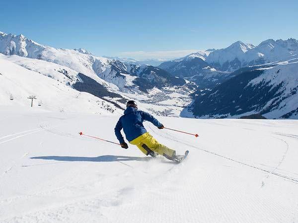 The ski season in Andermatt is one of the longest in central Switzerland