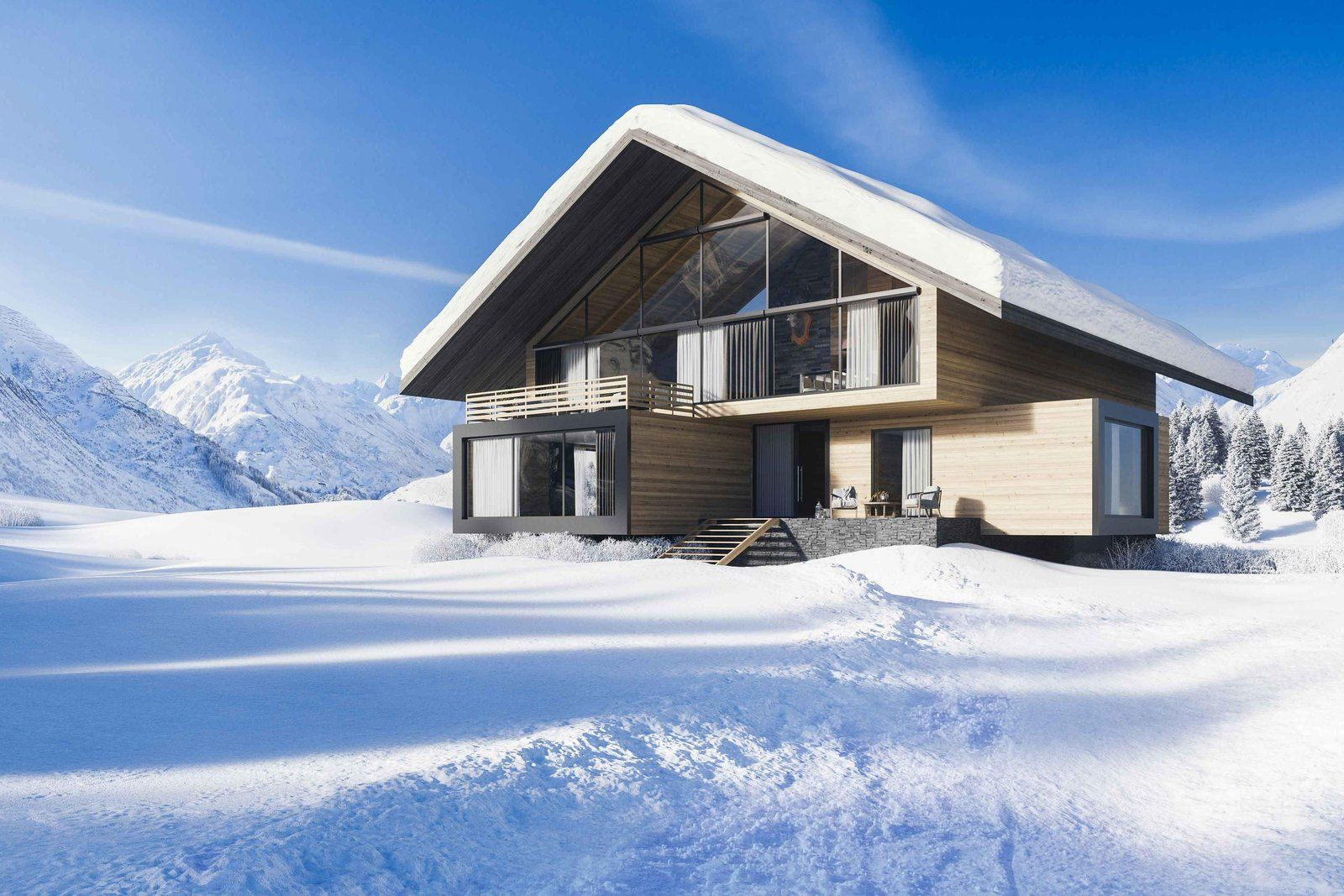 Here's How You Can Own A Carbon-Neutral, Luxury Holiday Home In The Swiss Alps