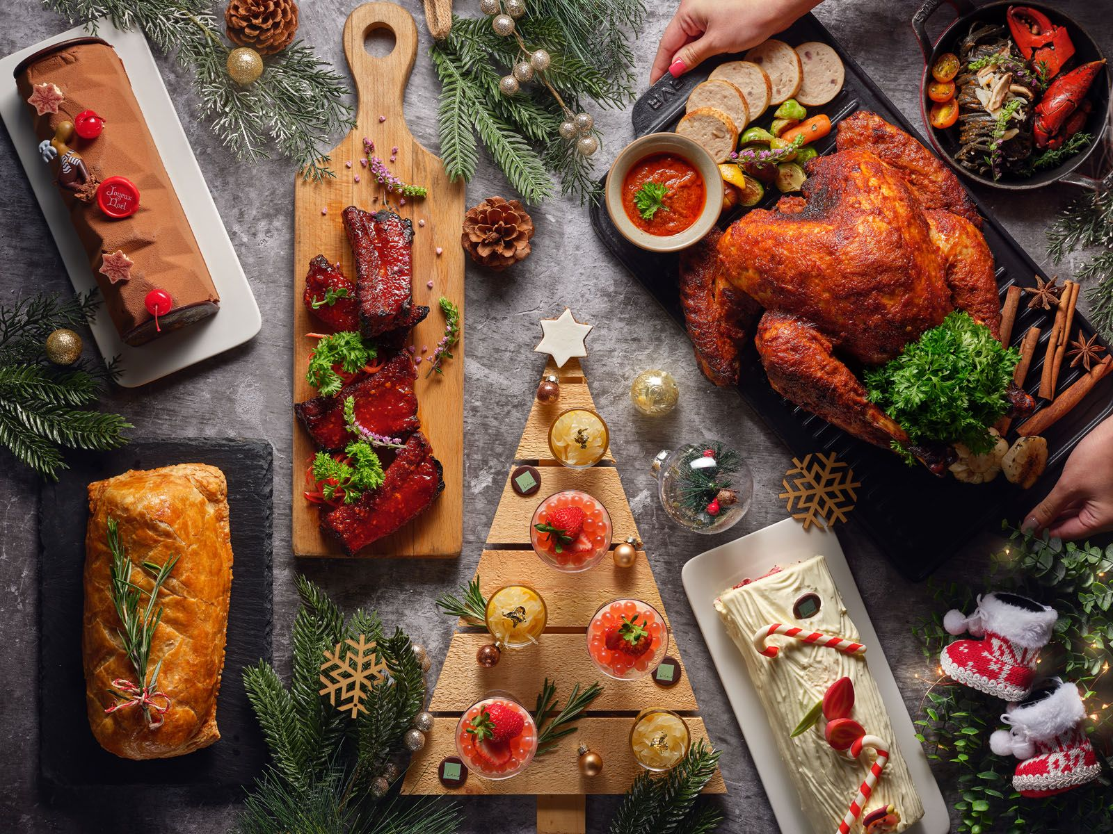 The Best Christmas Food To Feast On In Singapore For 2019