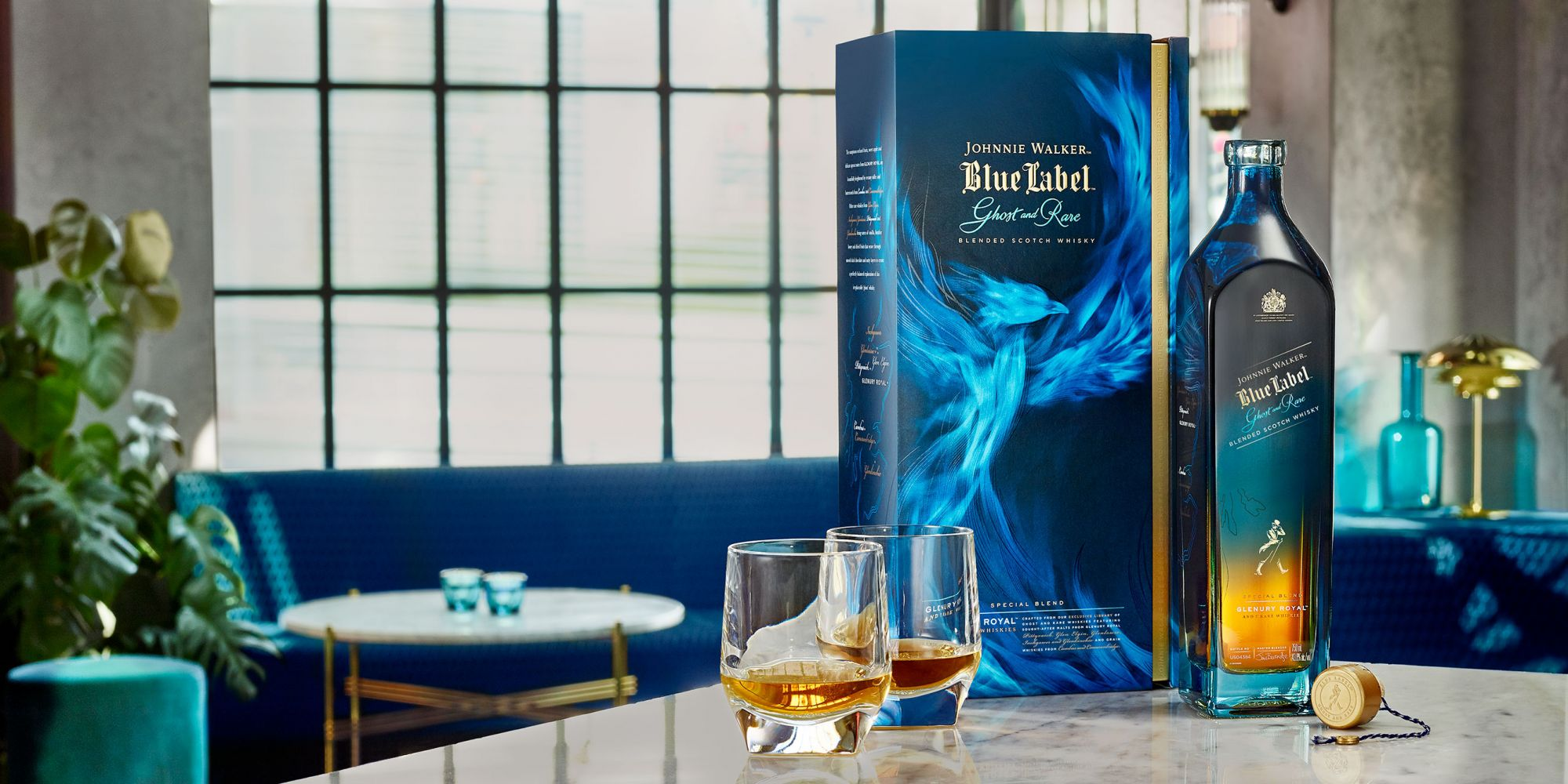 Savour Exquisite Whiskies Like The Johnnie Walker Blue Label Ghost And Rare Glenury Royal This Holiday Season